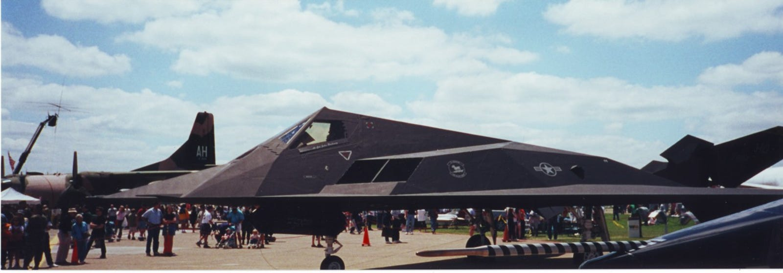 I was quite surprised to see an F-117 at our pokey little airshow.