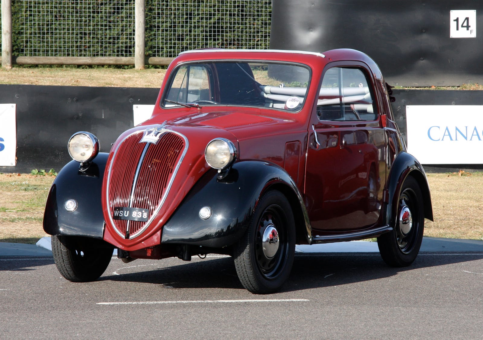 The original Topolino design wherefrom it got its 'Little Mouse' nickname - the 'Model A' was produced from '36-'48.
