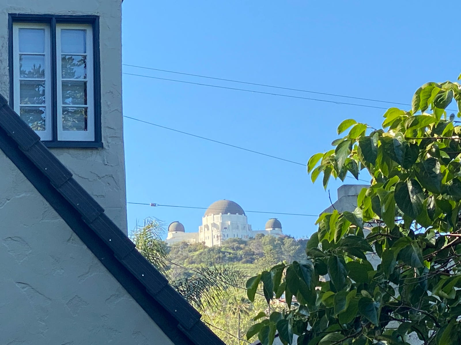 iPhone 11 Pro Max 5x zoom of Griffith Observatory