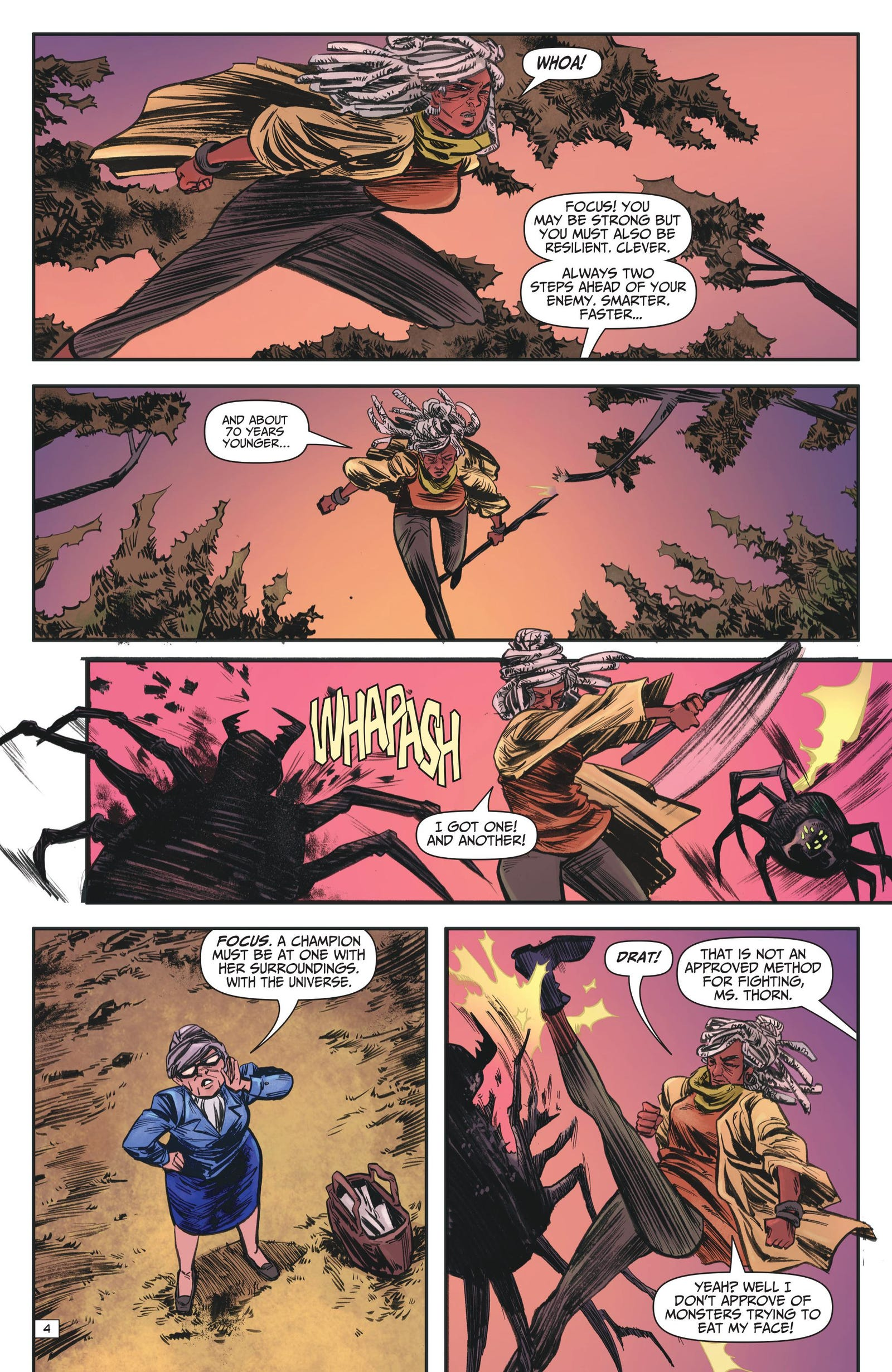 Our exclusive look inside Ash & Thorn's first issue!