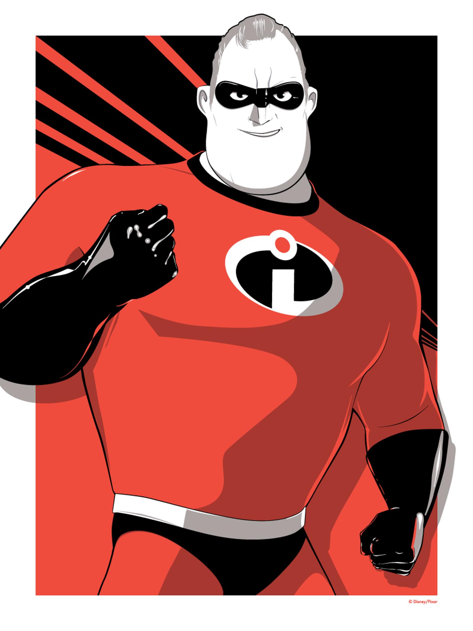 Mr. Incredible by Craig Drake