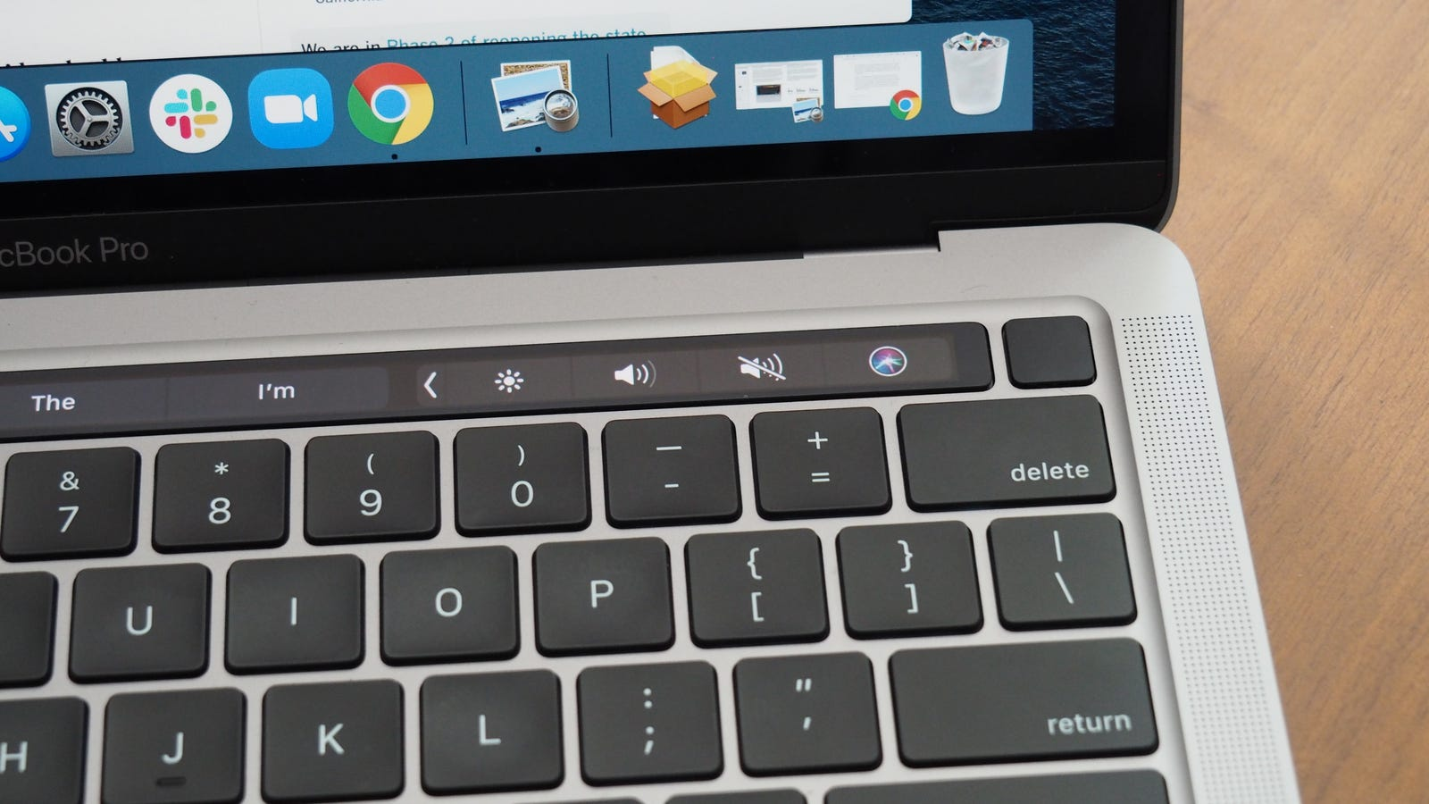 I do love Touch ID, though, which my 3-year-old 13-inch MacBook Pro doesn't have.