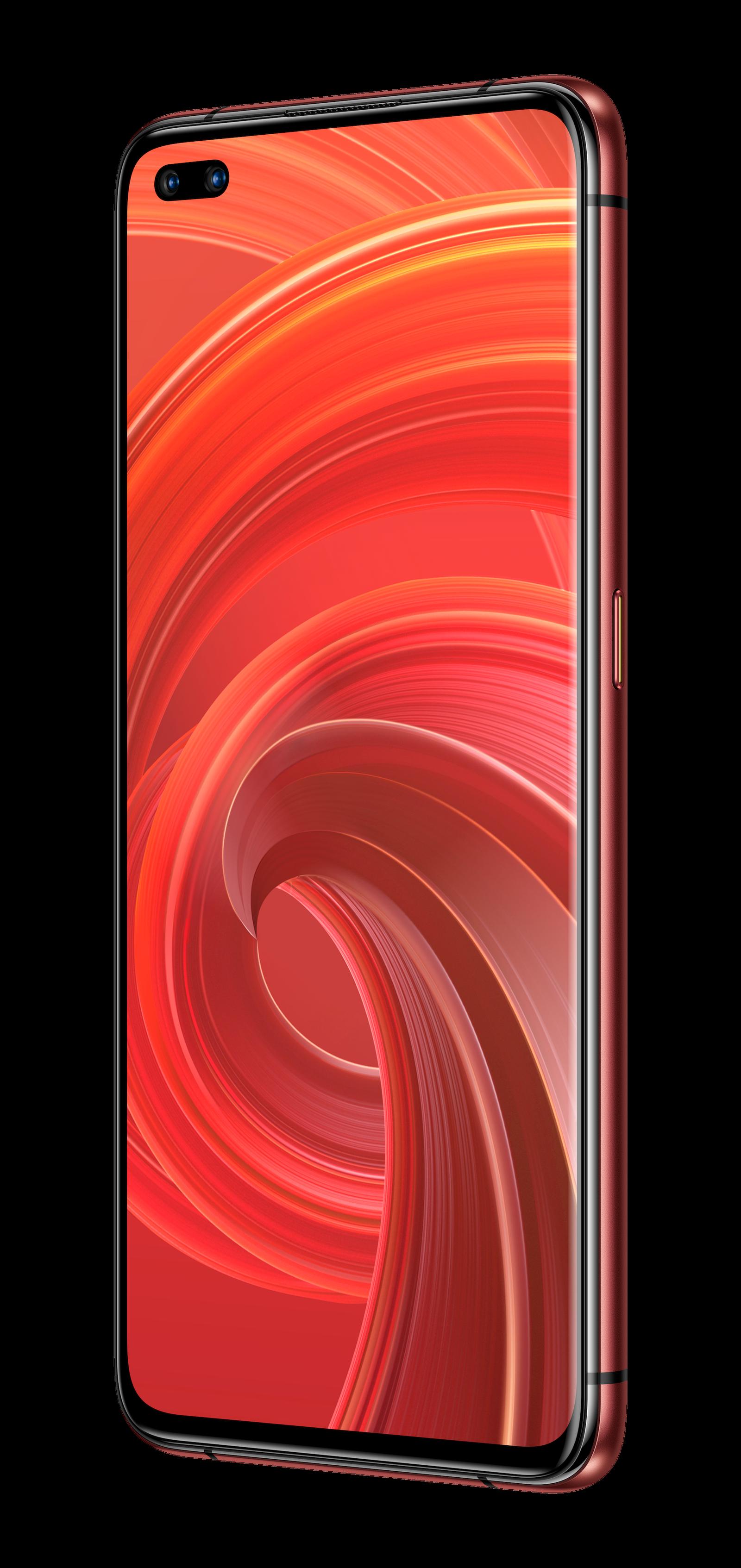 """El Realme X50 Pro 5G en """"rojo óxido"""""""