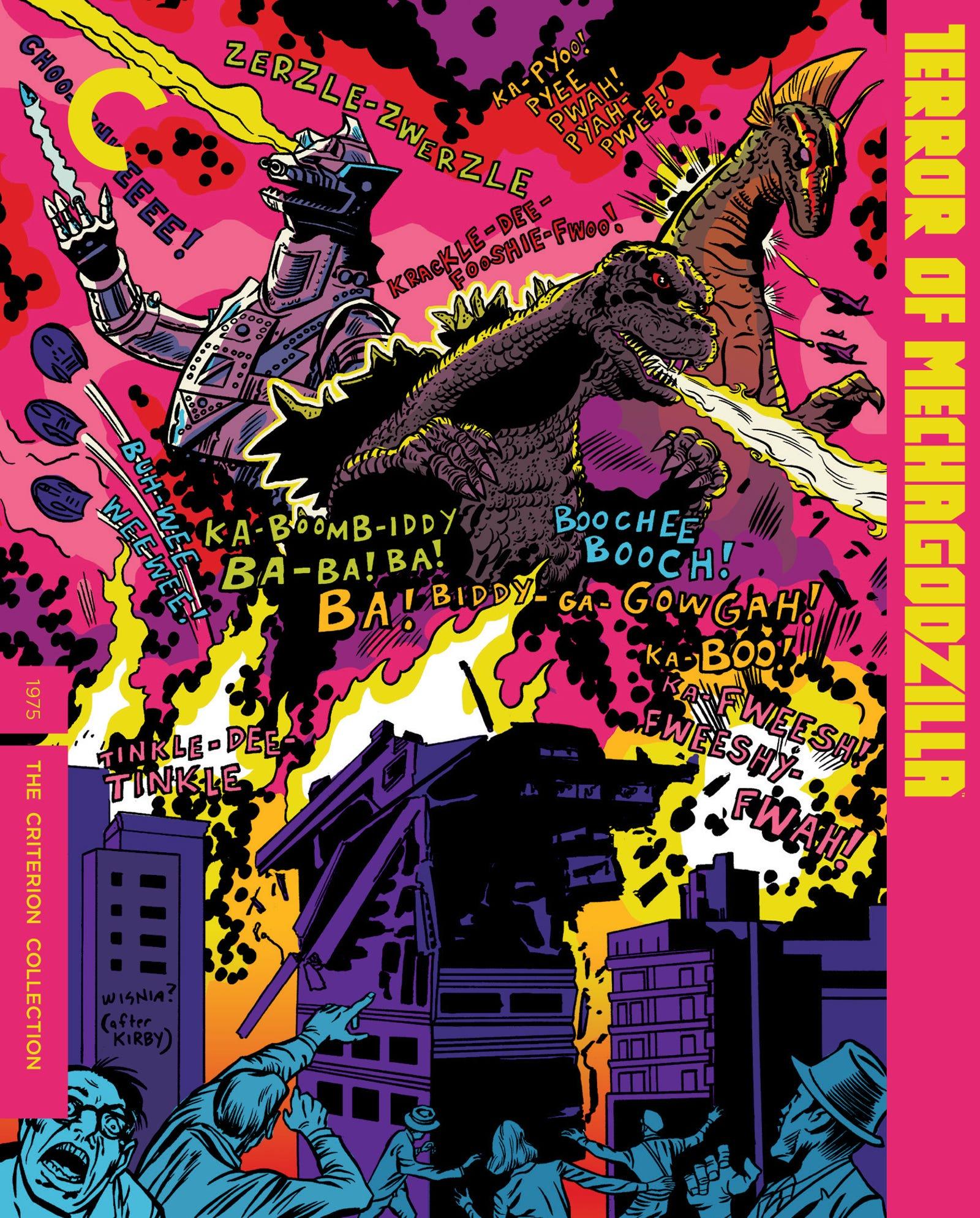 Terror of Mechagodzilla Criterion cover