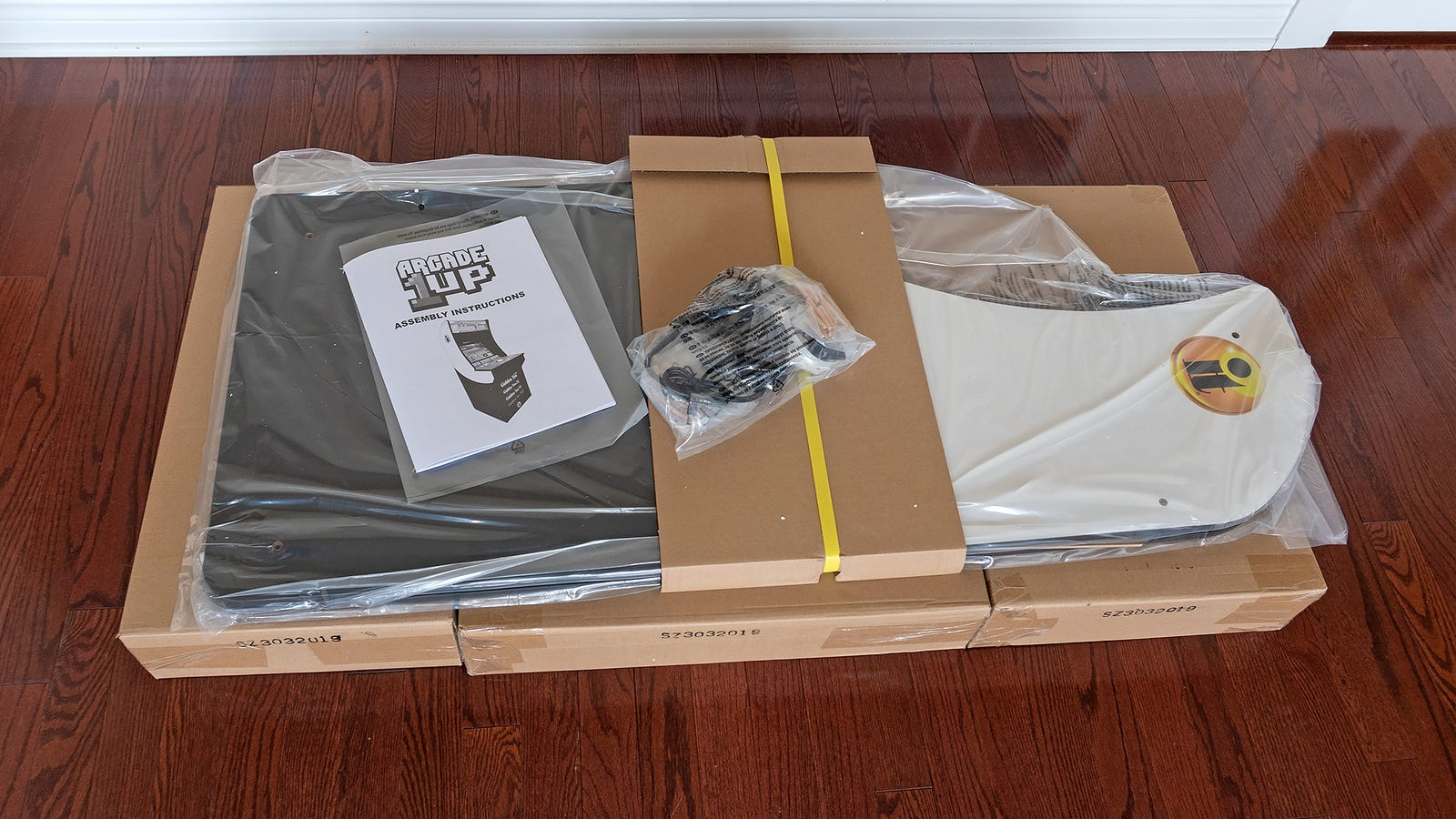 There's a lot of boxes in boxes with these kits, so as with an Ikea run, you're left with a lot of material to recycle.