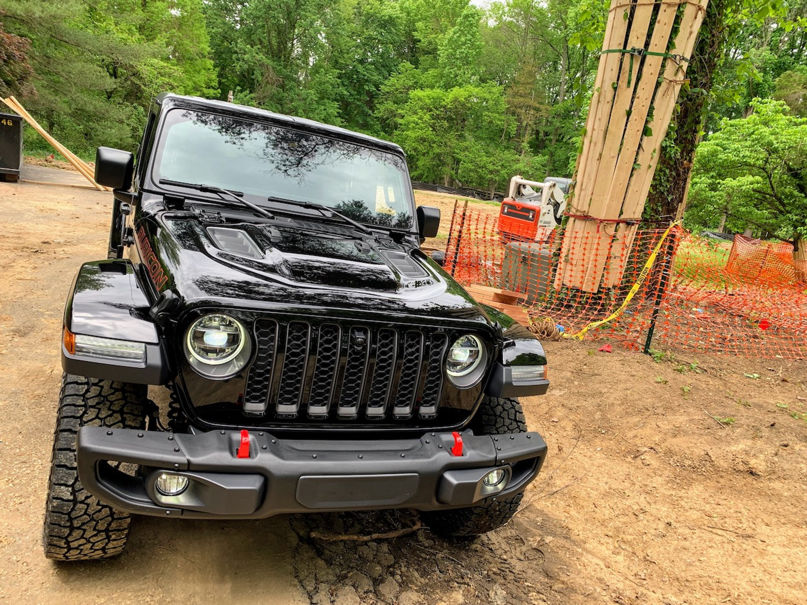 2020 Jeep Gladiator Rubicon, looking right at home