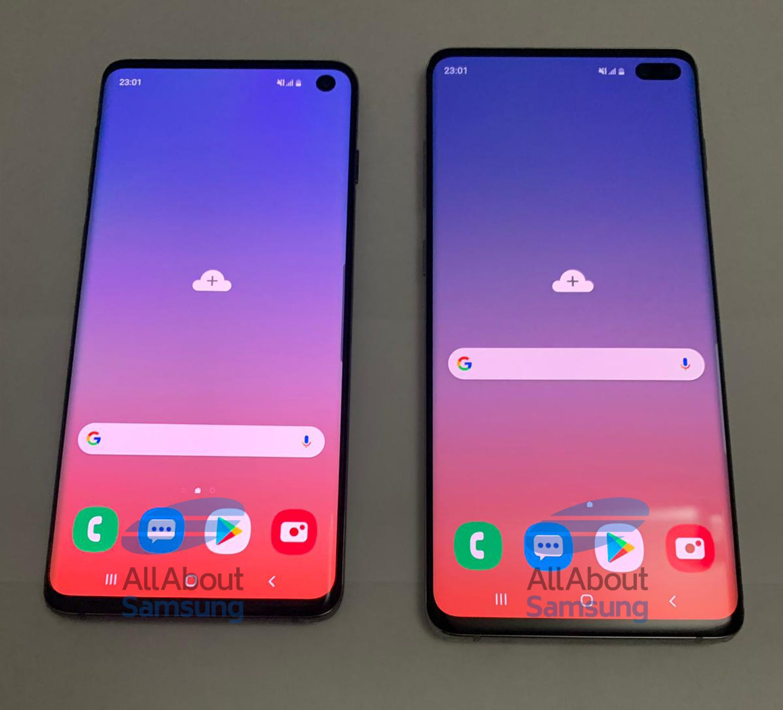Todas las fotos: All About Samsung.