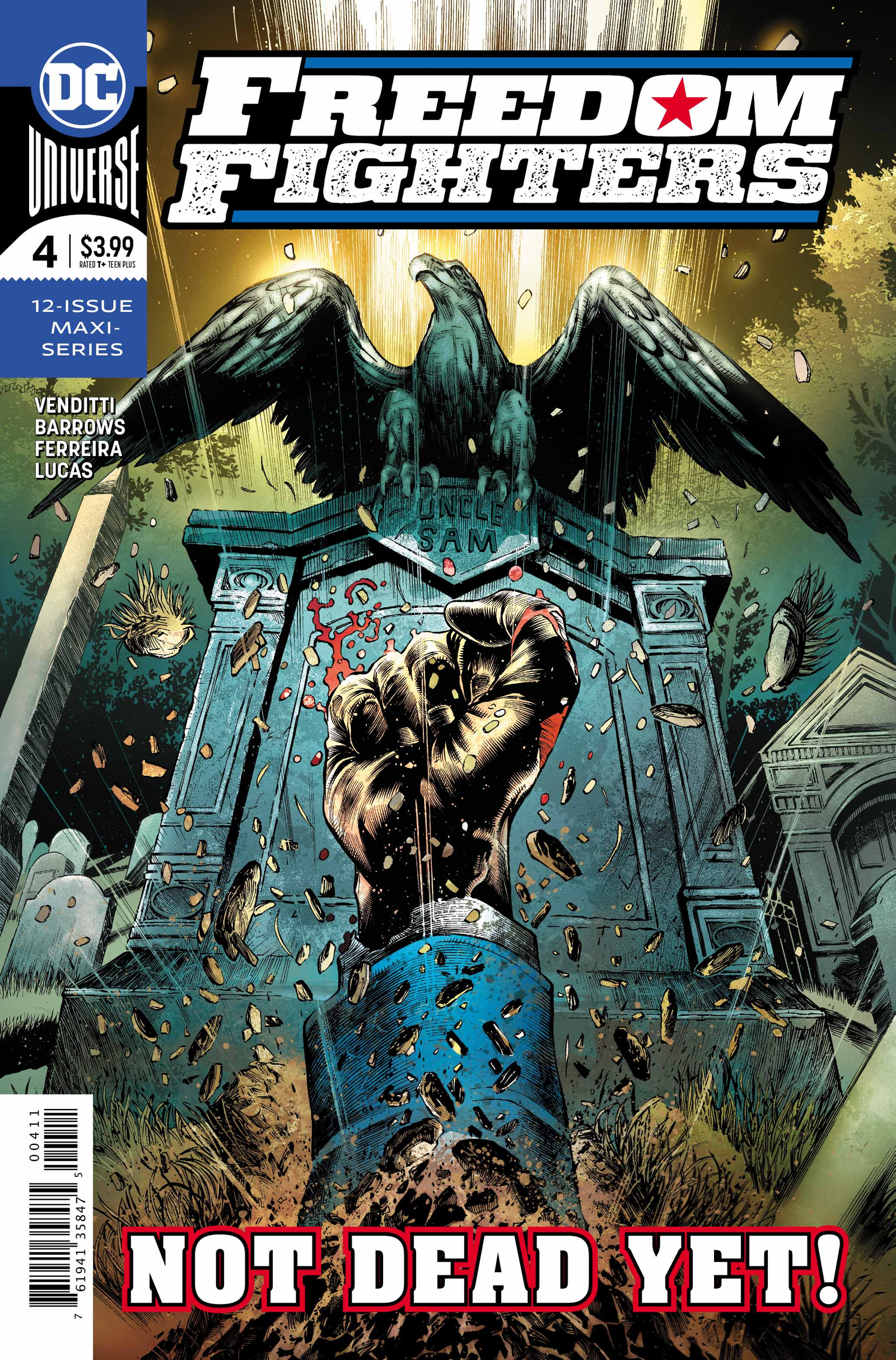Cover by Eddy Barrows, Eber Ferreira, and Adriano Lucas