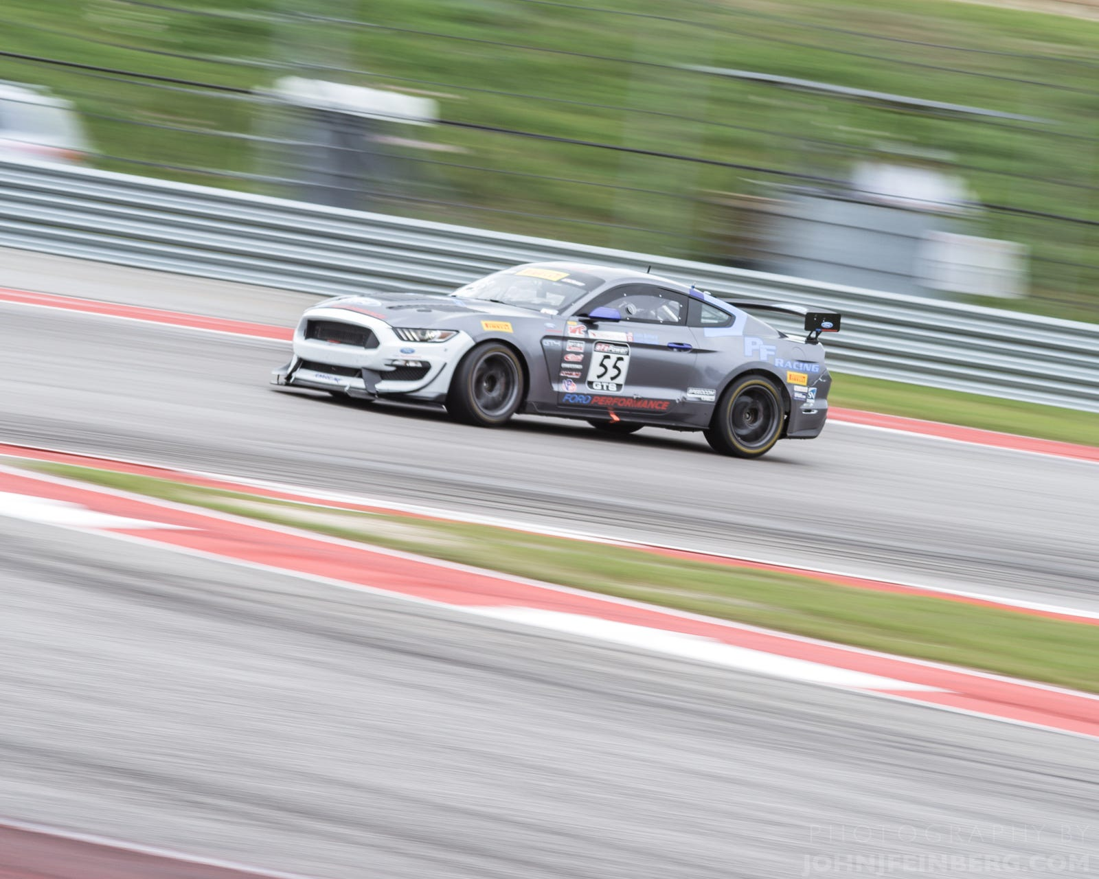 PF Racing's Scott Maxwell (CAN) / Jade Buford (USA) - Ford Mustang GT4 @ GTS Sprint-X