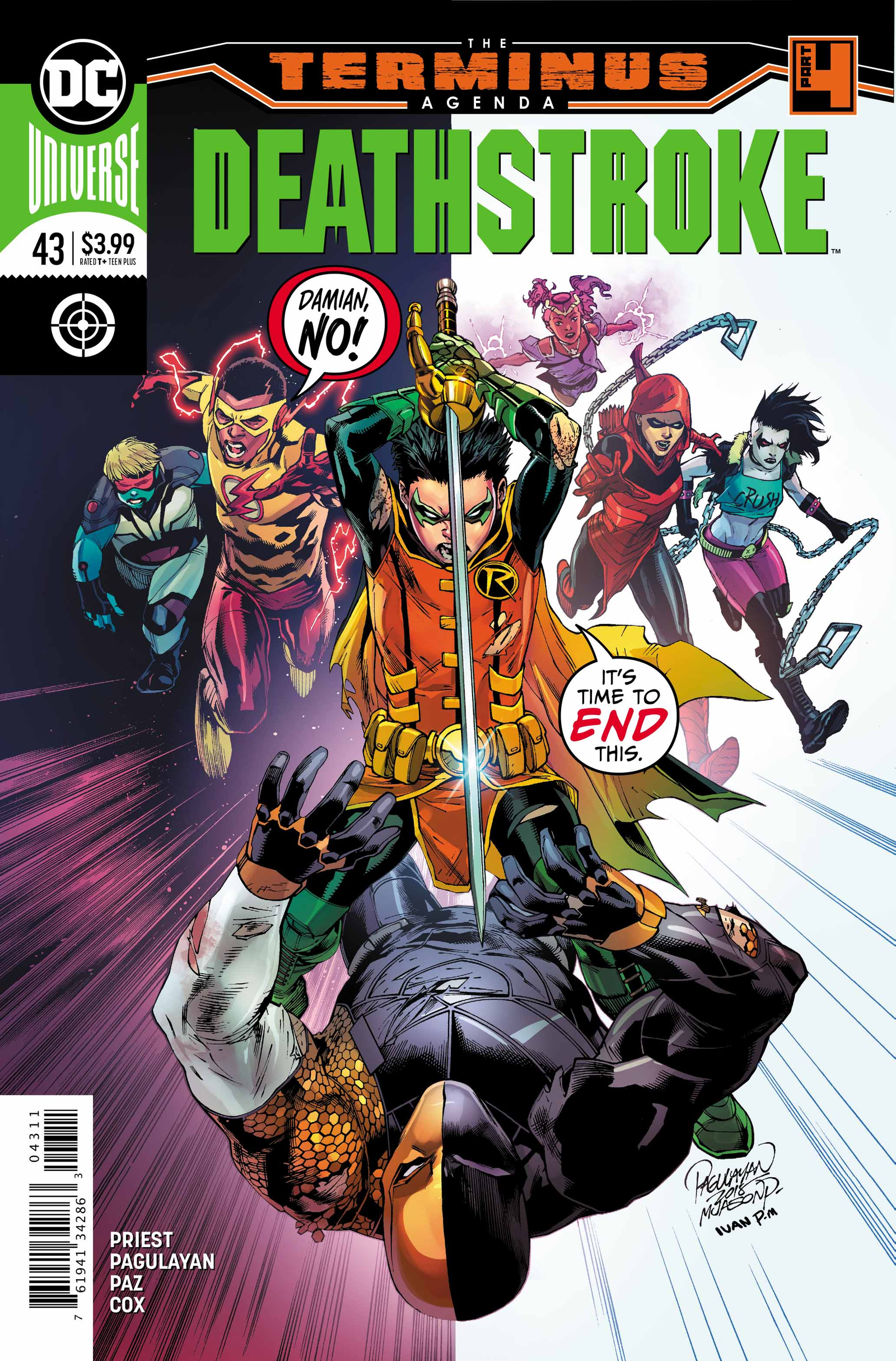 Cover by Carlo Pagulayan, Jason Paz, and Ivan Plascencia