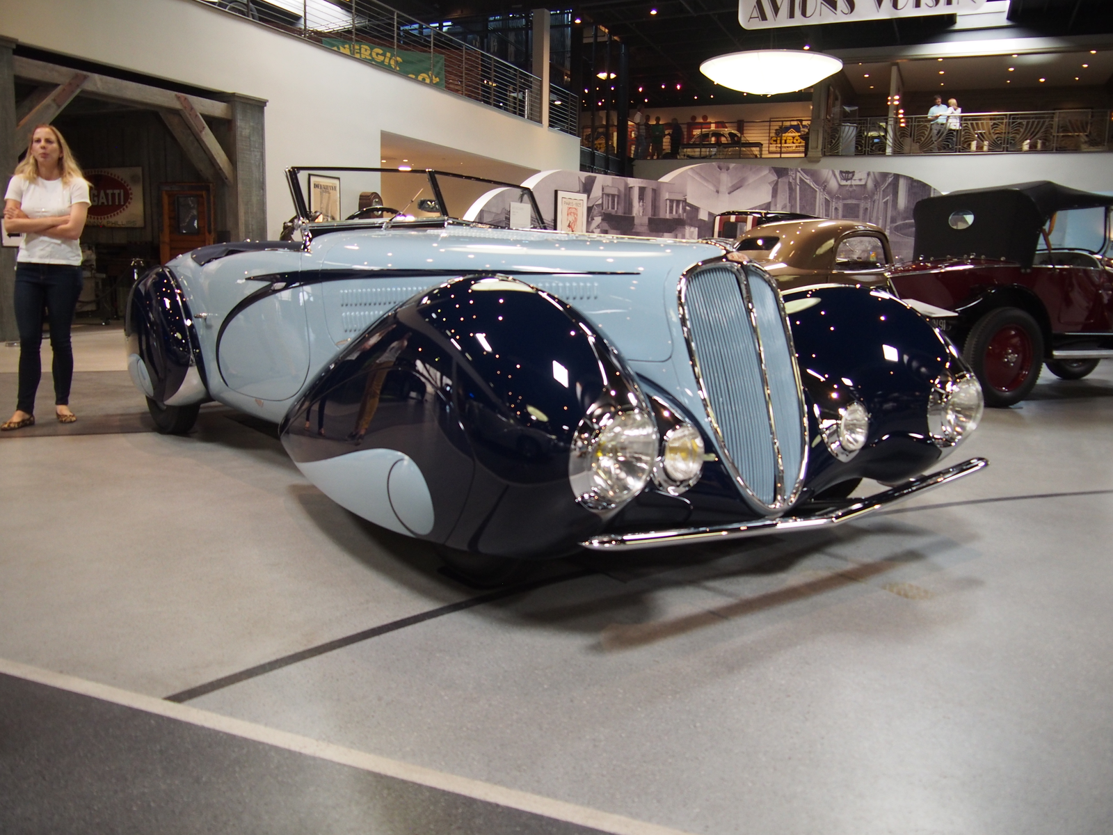1937 Delahaye Type 135 M Cabriolet with a stunning body by Figoni & Falaschi.
