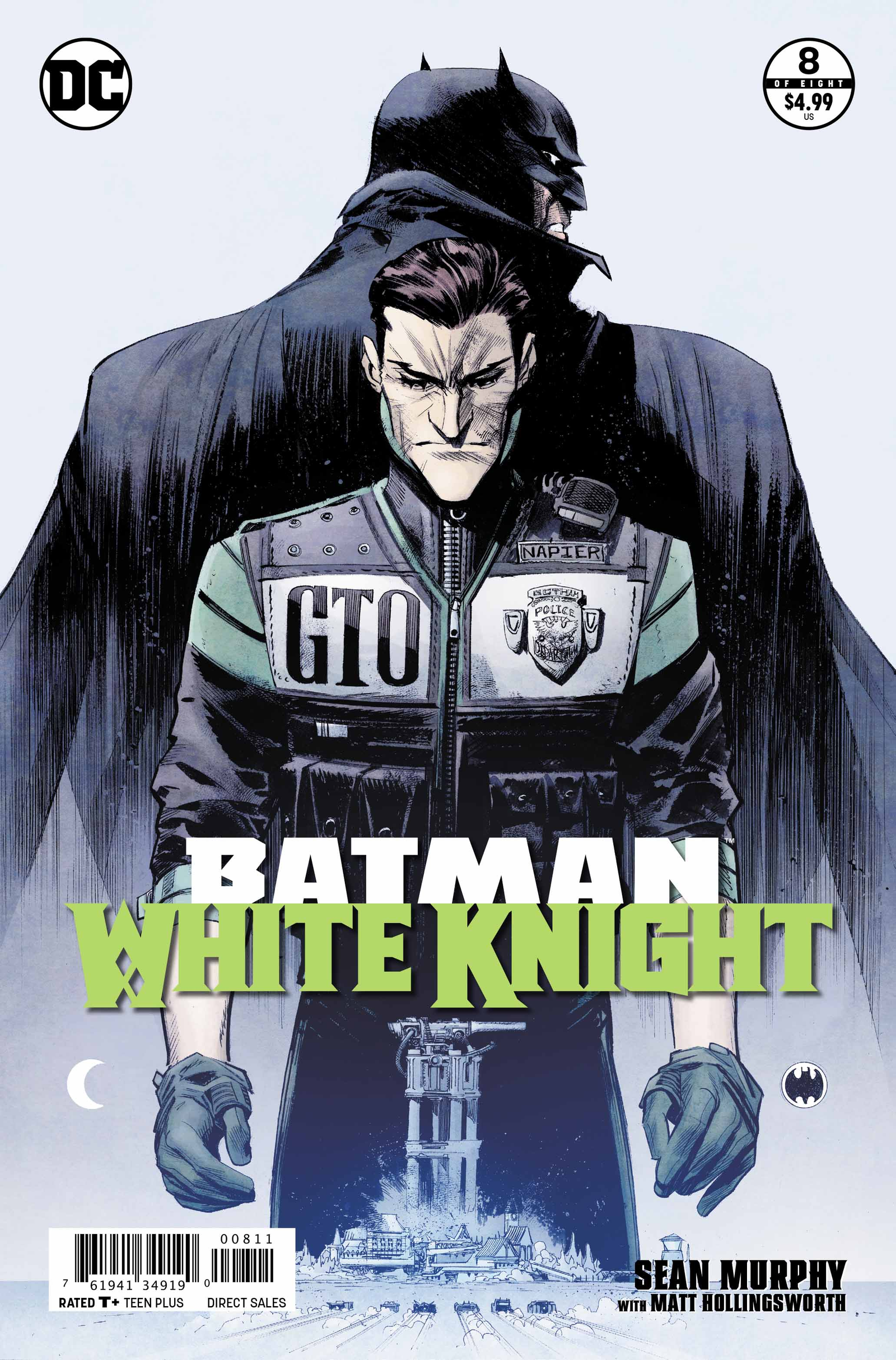 Illustration for article titled iBatman: White Knight/i comes to an exciting but rushed end