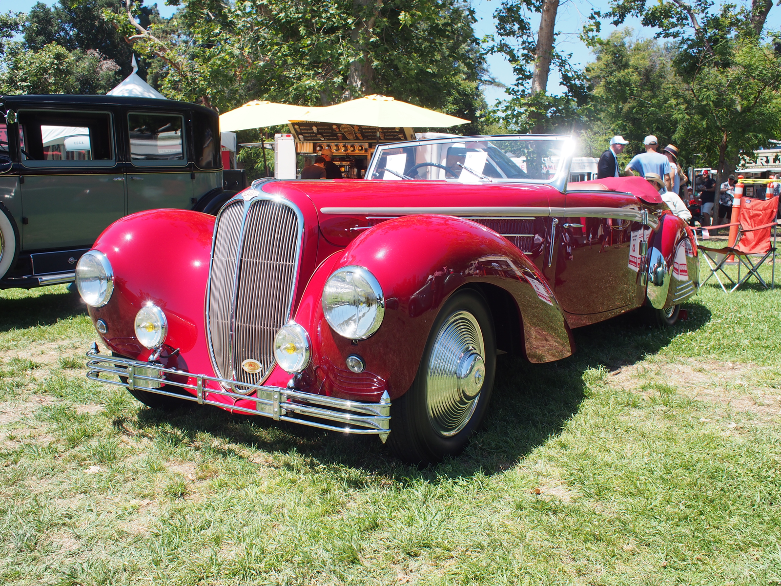 Another stunner was this 1947 Delahaye.