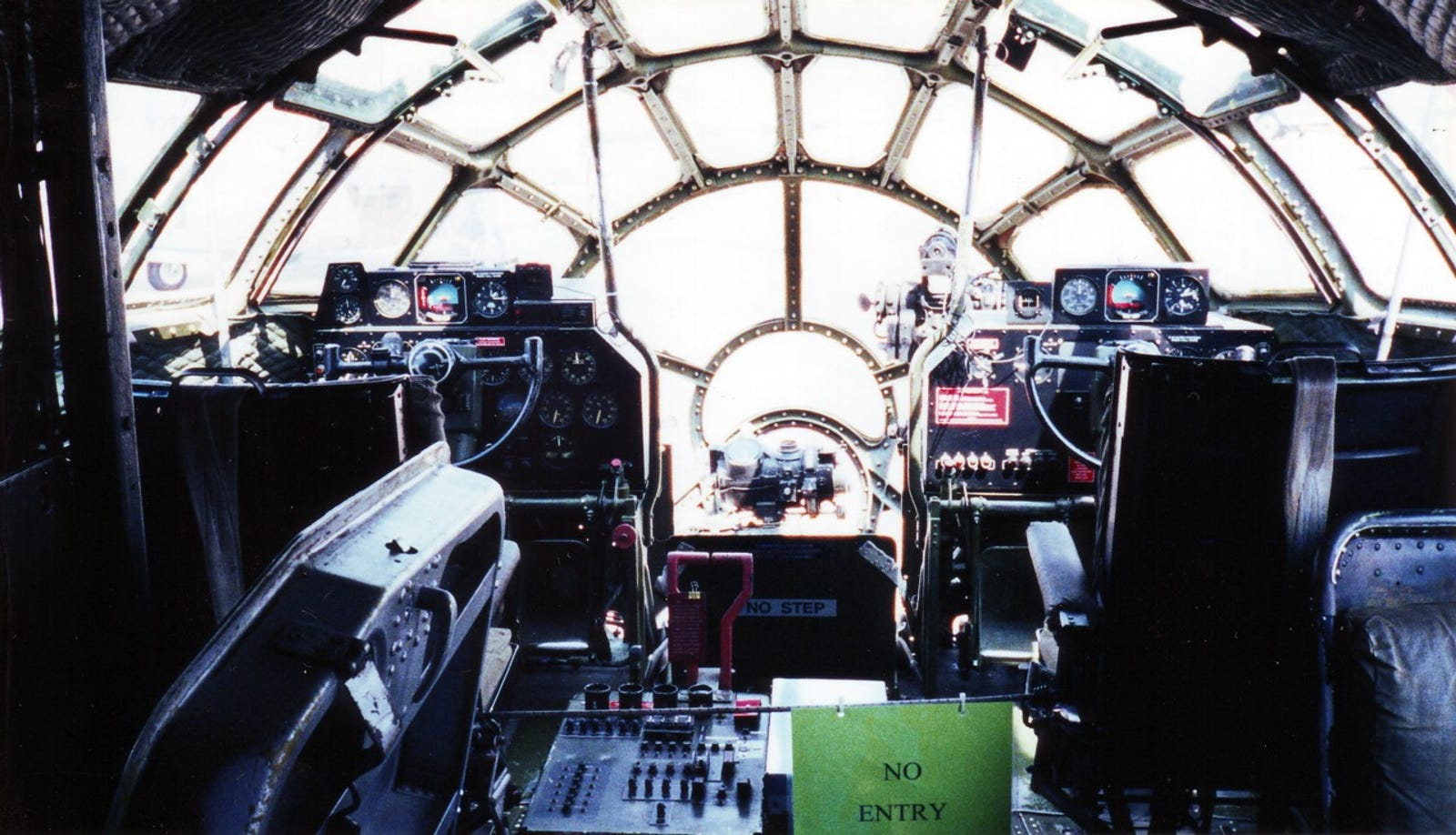 FIFI's flight deck.