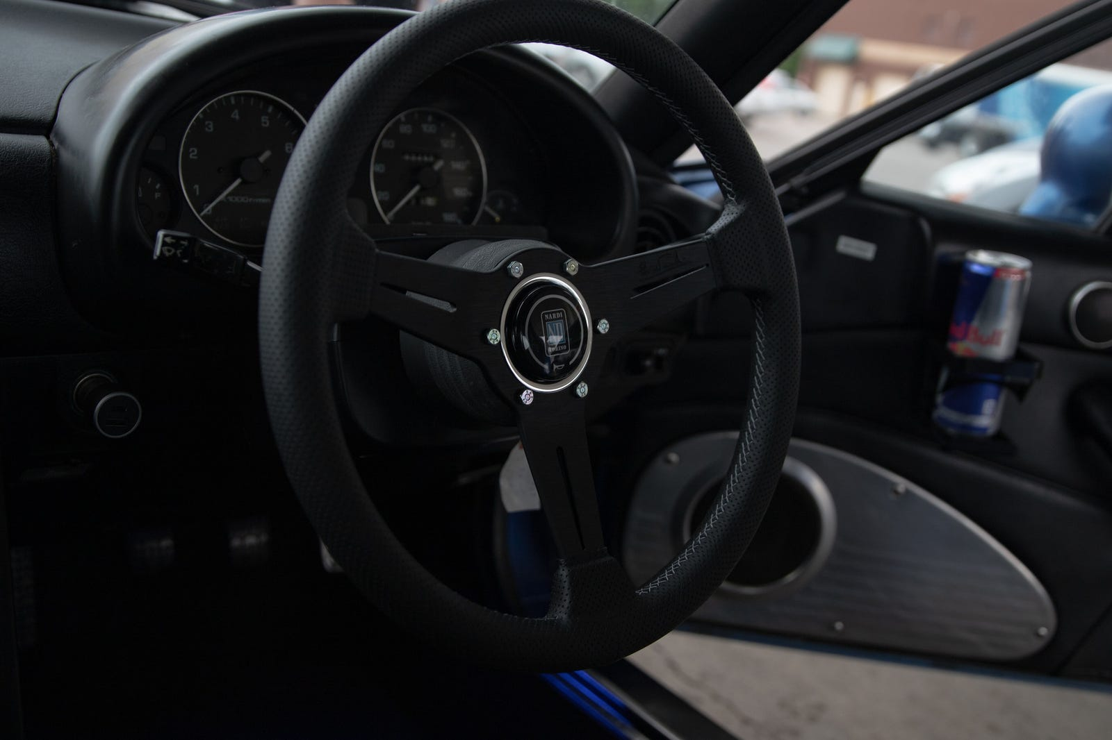 A Miata with functional cup holders?!