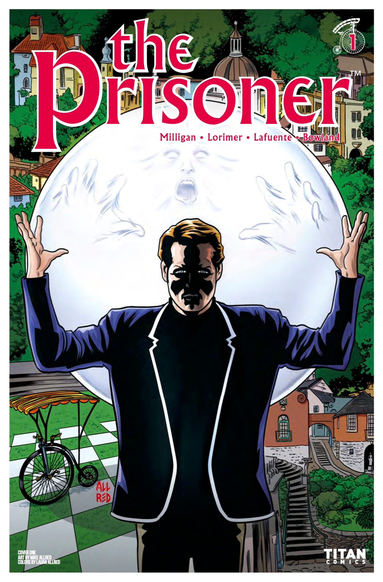 Illustration for article titled The 50-year-old cult classic TV show iThe Prisoner/i is revived in a wild and weird comic