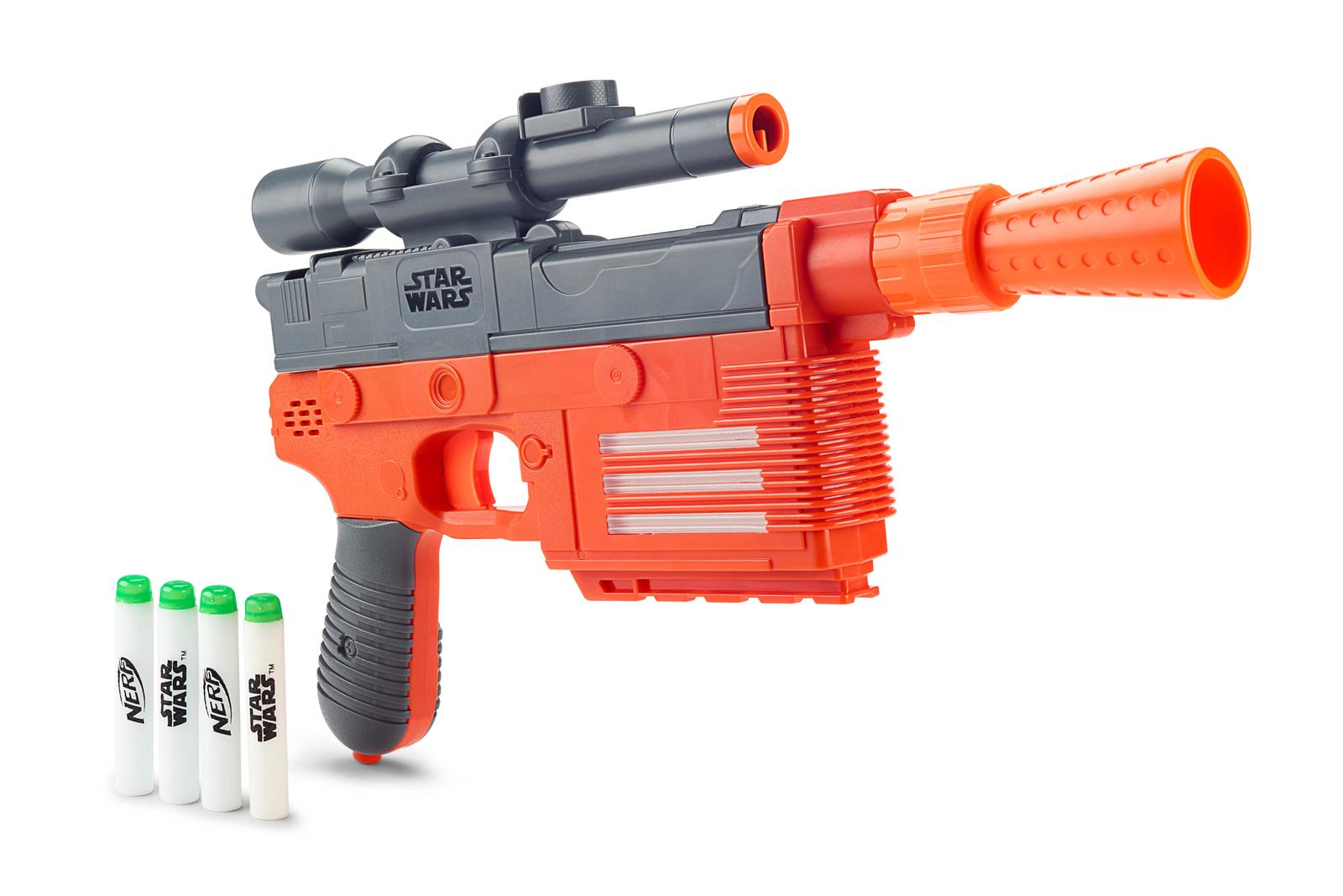 NERF Glowstrike Han Solo Blaster.