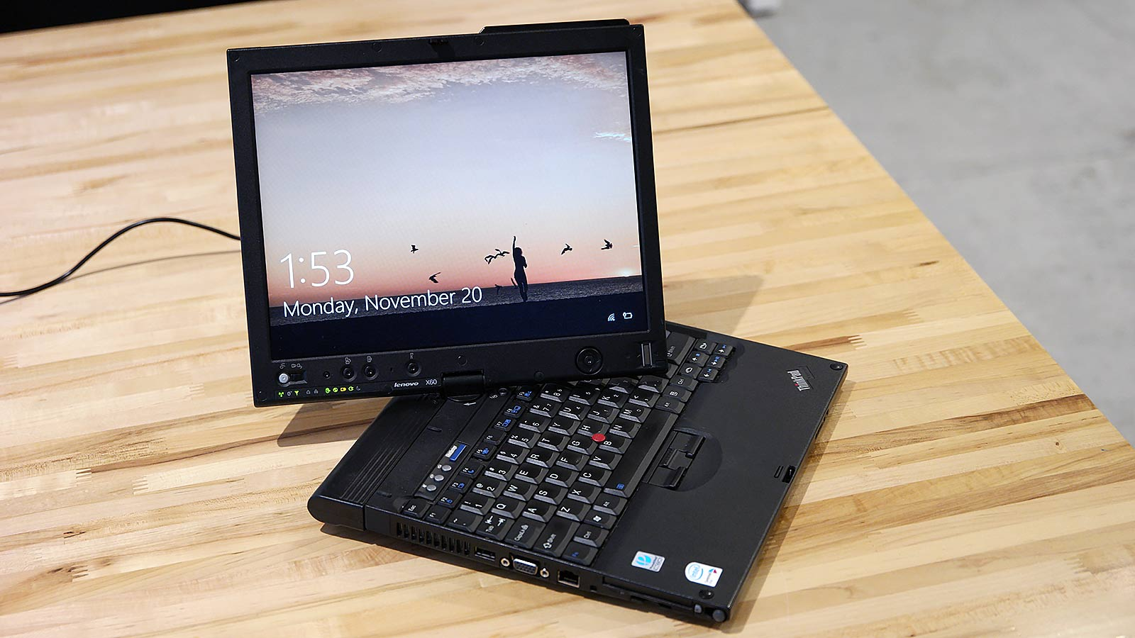 The ThinkPad X60 is gloriously awkward.