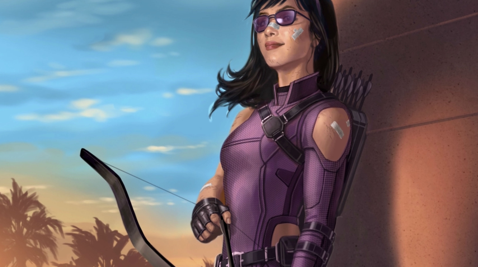 Kate Bishop in the house.