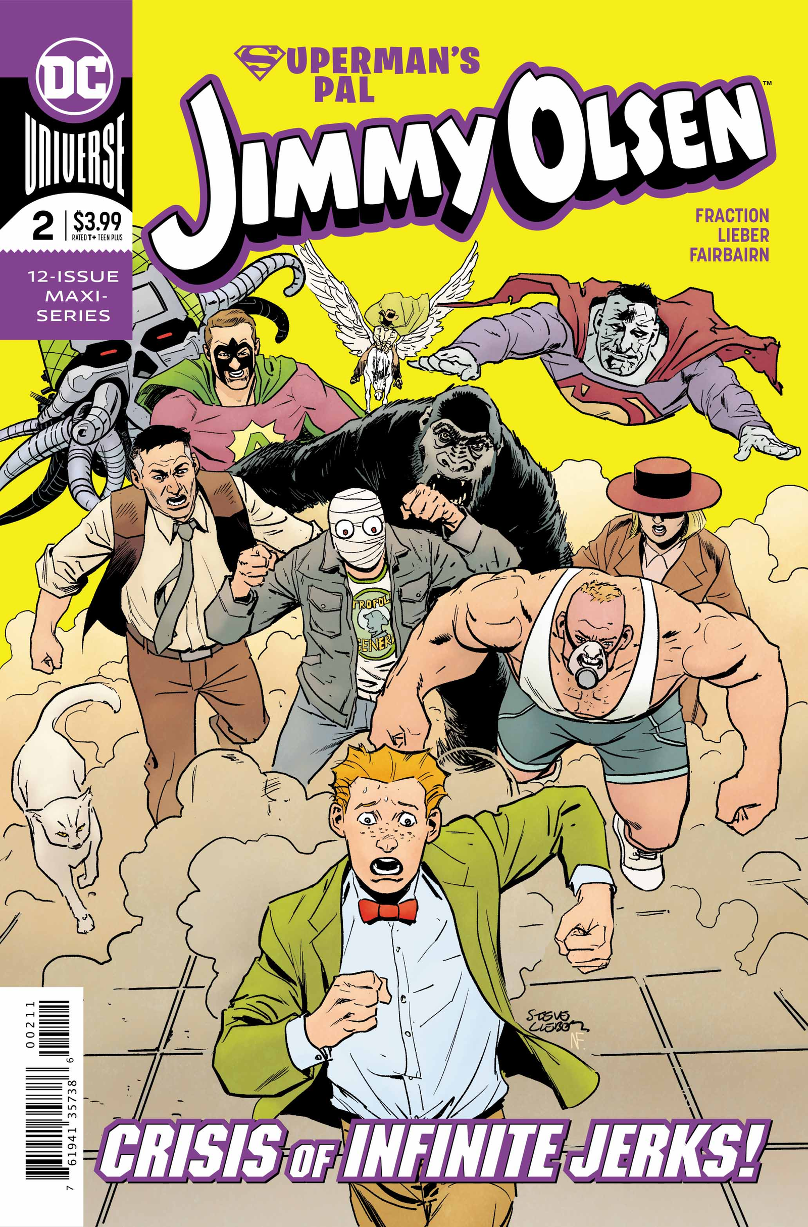 Cover by Steve Lieber and Nathan Fairbairn