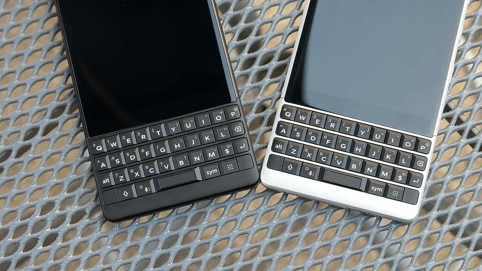 The Key2 is available in two colors: black or silver.