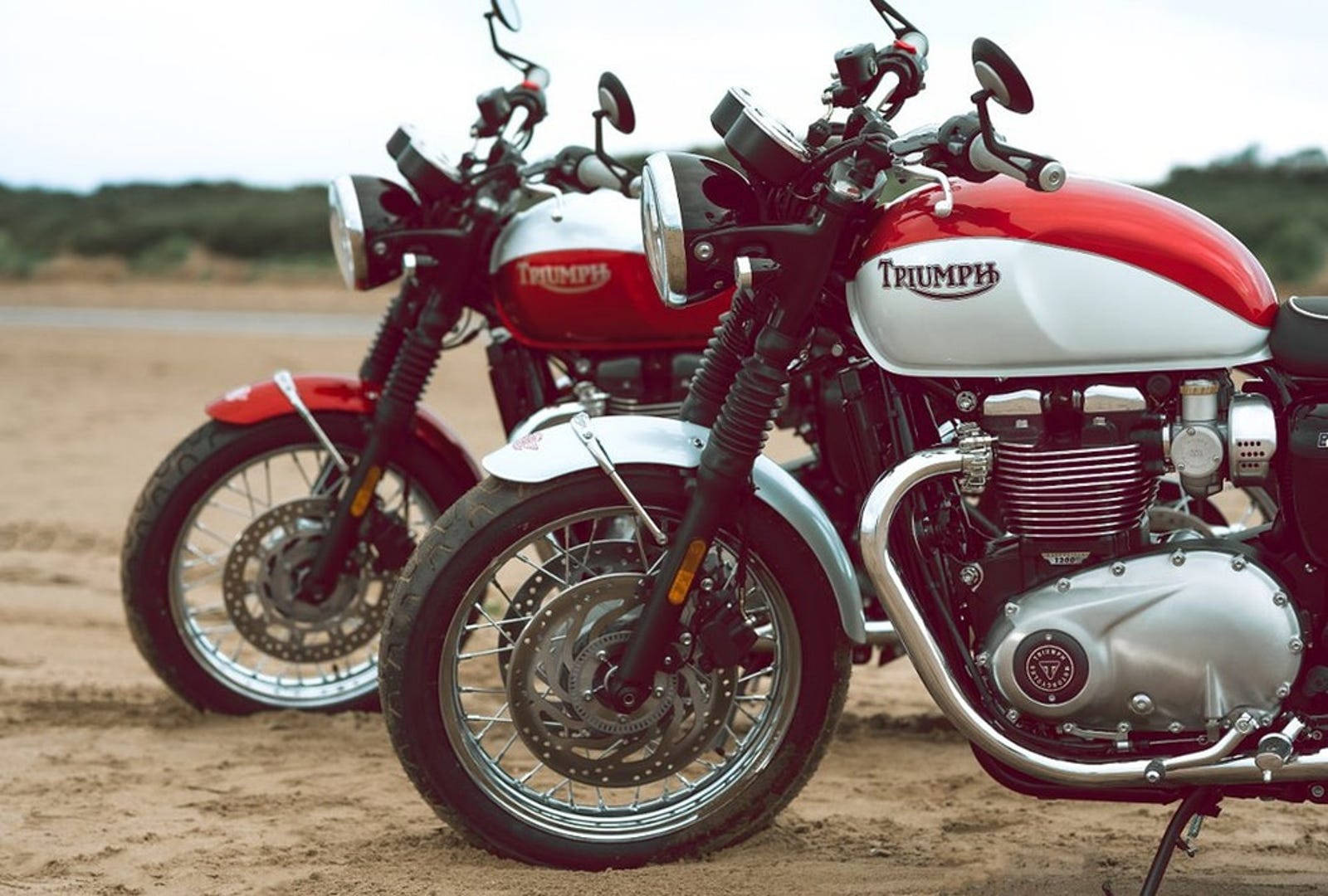 Bud Ekins Bonneville T100 and T120