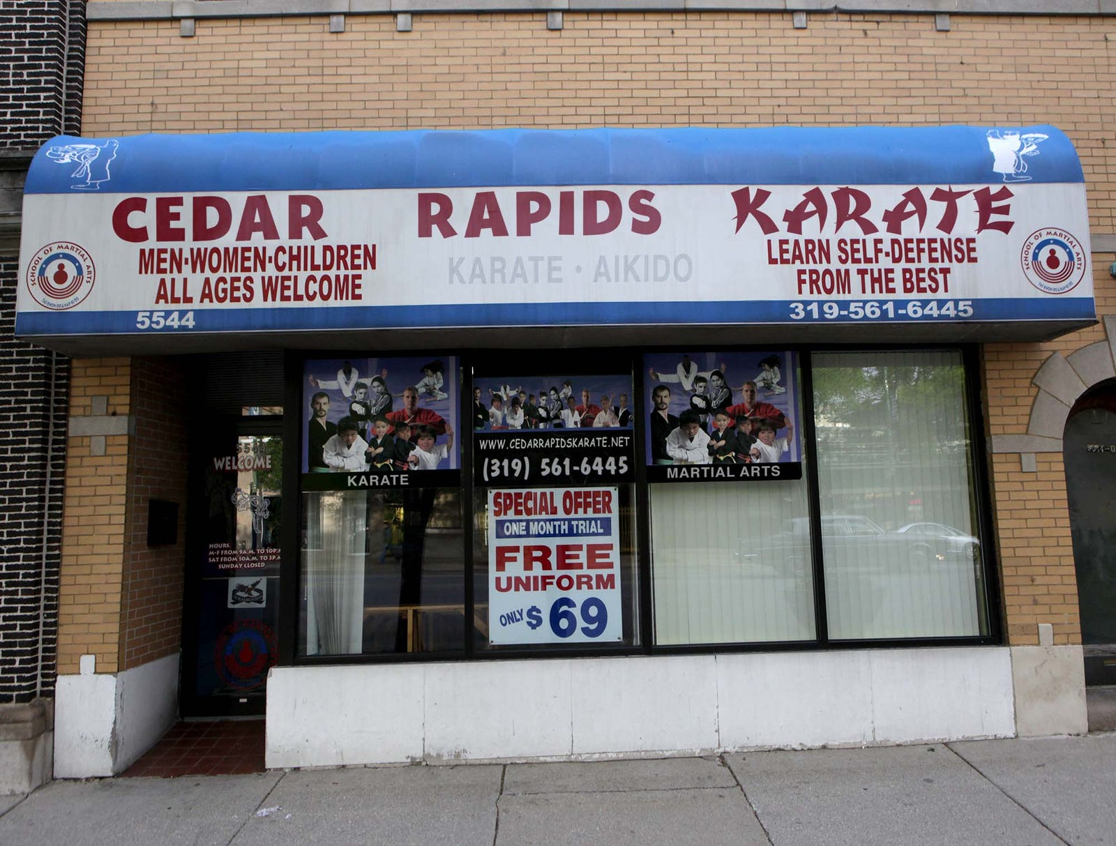 Karate Studio Hoping To Get Local Phone Number That Spells Out Word 'Kick' Or 'Chop'