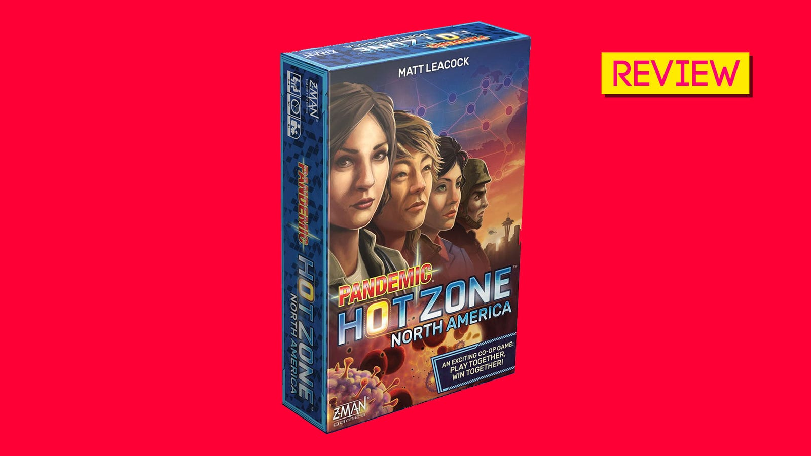 Pandemic: Hot Zone North America Is A Very Timely New Board Game