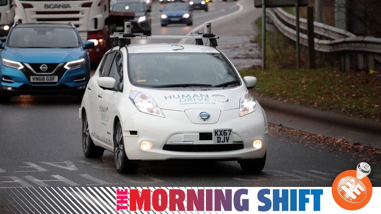 A Nissan Leaf Just Finished A 230-Mile Autonomous Trip In Britain