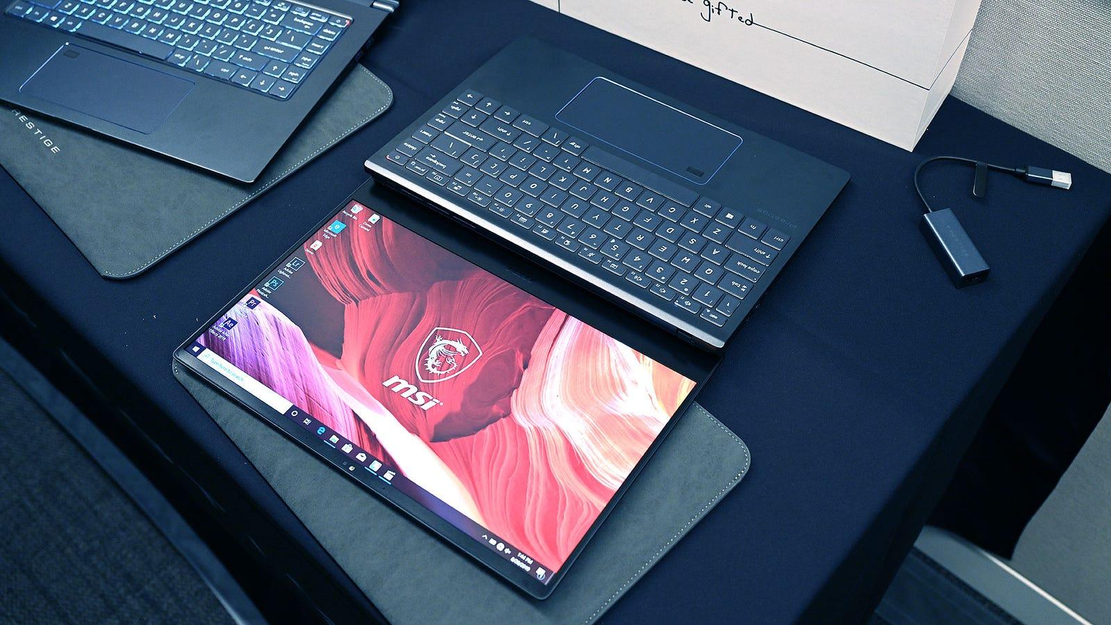 Illustration for article titled MSIs Prestige Laptops Bring Big Gaming Performance to a Broader Audience