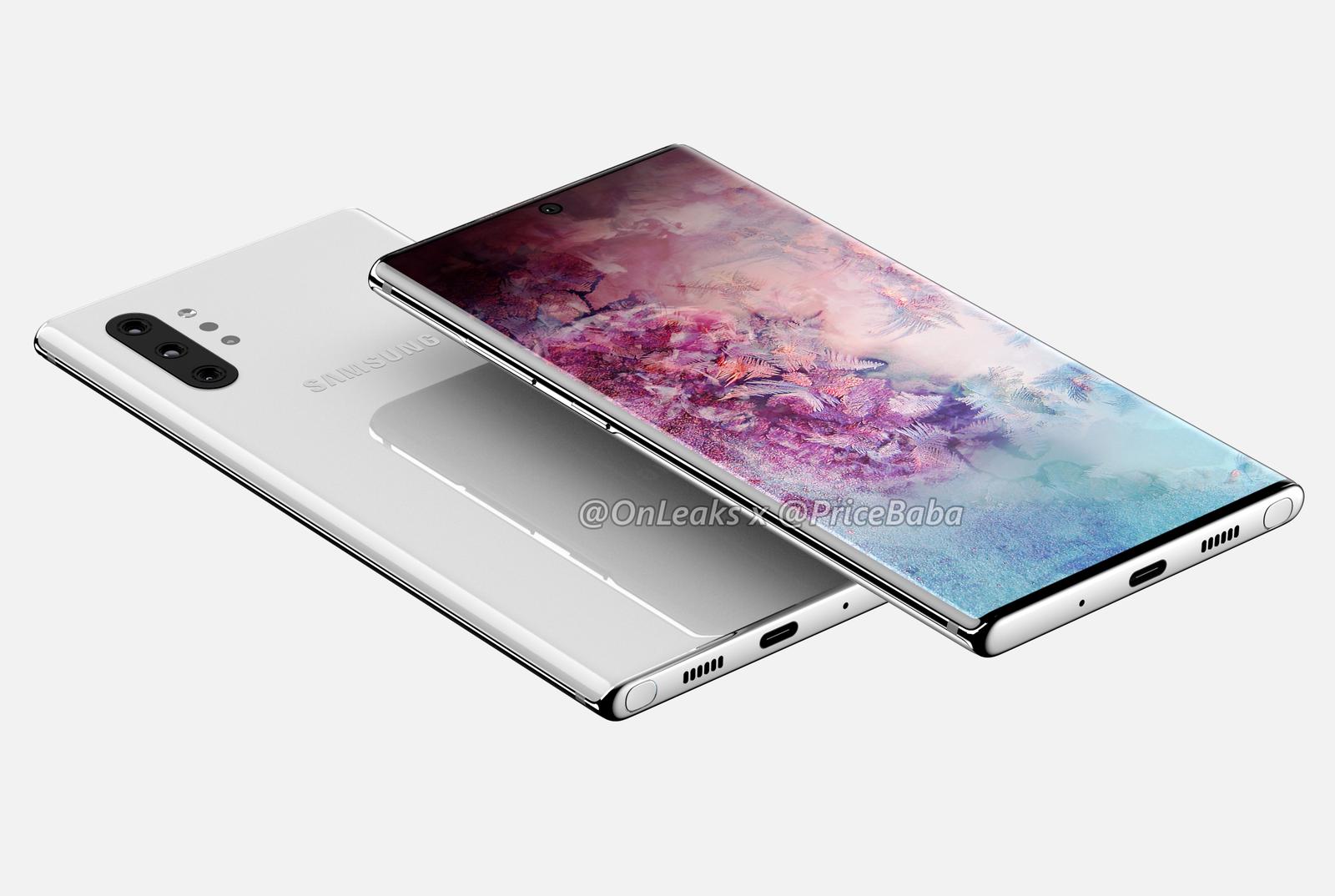 Illustration for article titled Se filtran más detalles sobre el Galaxy Note 10 y su nueva versión Pro
