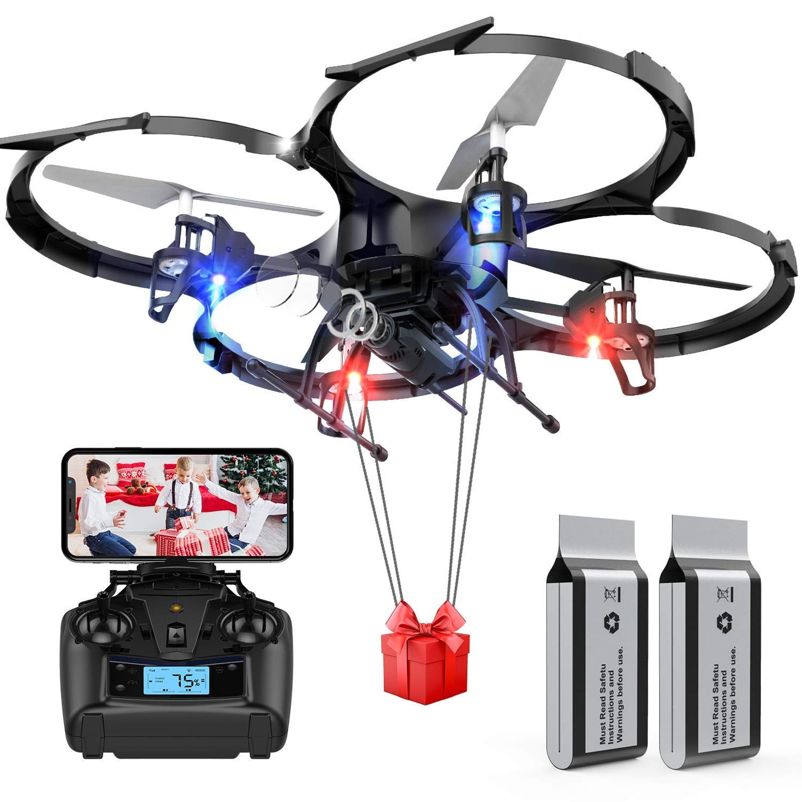 45% on Drones with Camera-DBPOWER U818A Discovery FPV 720P HD WiFi Camerawith Coupon Code: CSB9DON7