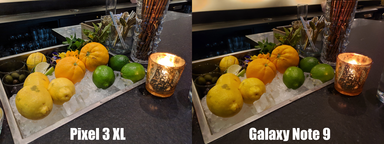 While the Note 9's pic may have been a slightly more accurate, the Pixel 3's advantage in color, exposure, and detail is obvious.