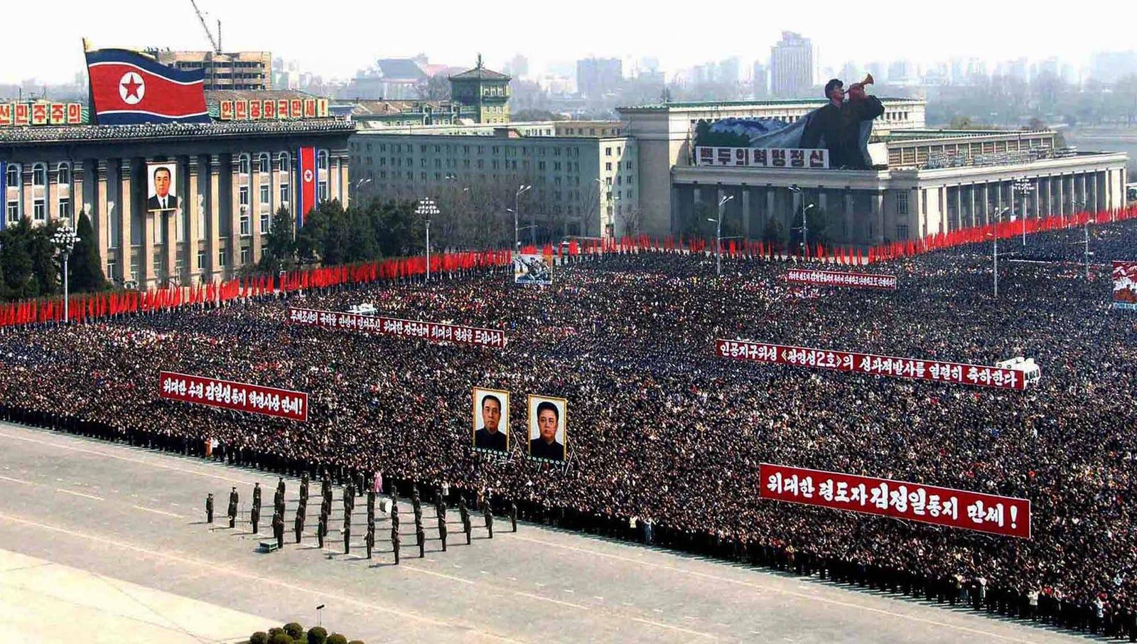 World Surrenders To North Korea