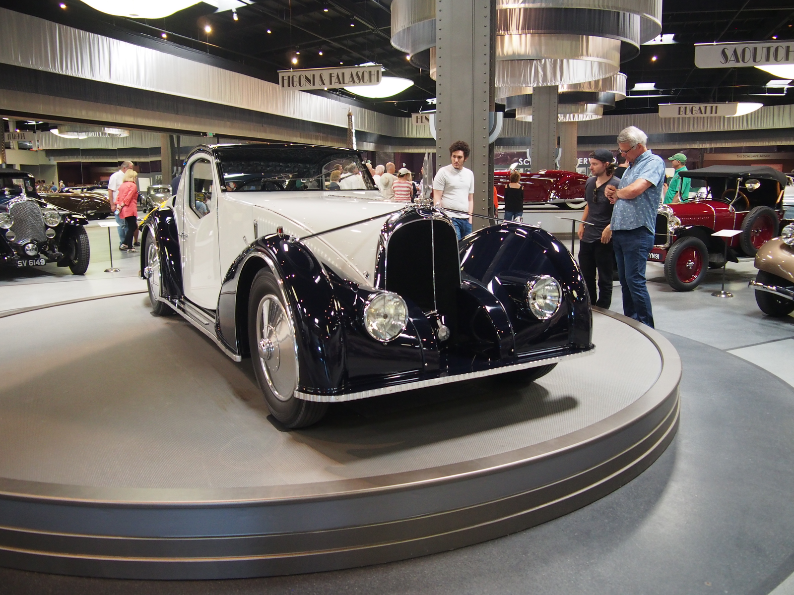 This is one of the most incredible works of art I've ever seen. A 1934 Avions Voisin Type C37 Aerosport Coupé. The body is mostly a recreation of the original by Voisin and Telmont on the original frame.