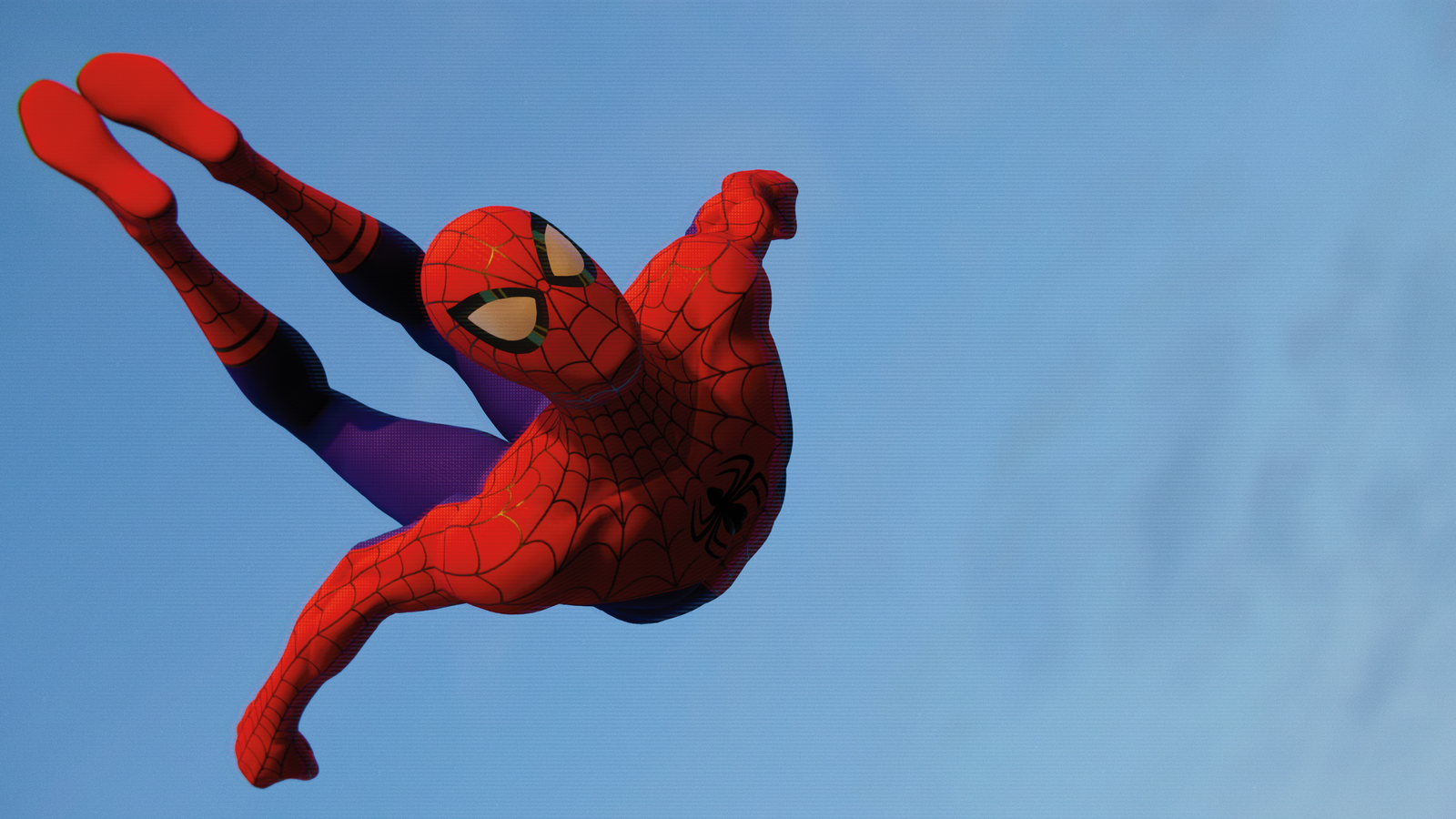 It's me. Of course I took plenty of pictures. Pictures of Spider-Man.