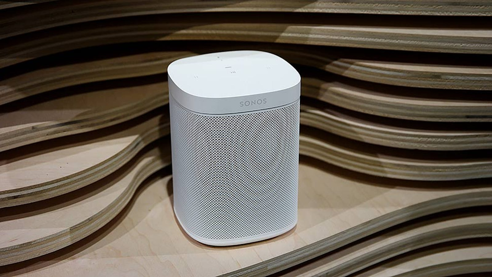The Sonos One. Photo: Sam Rutherford