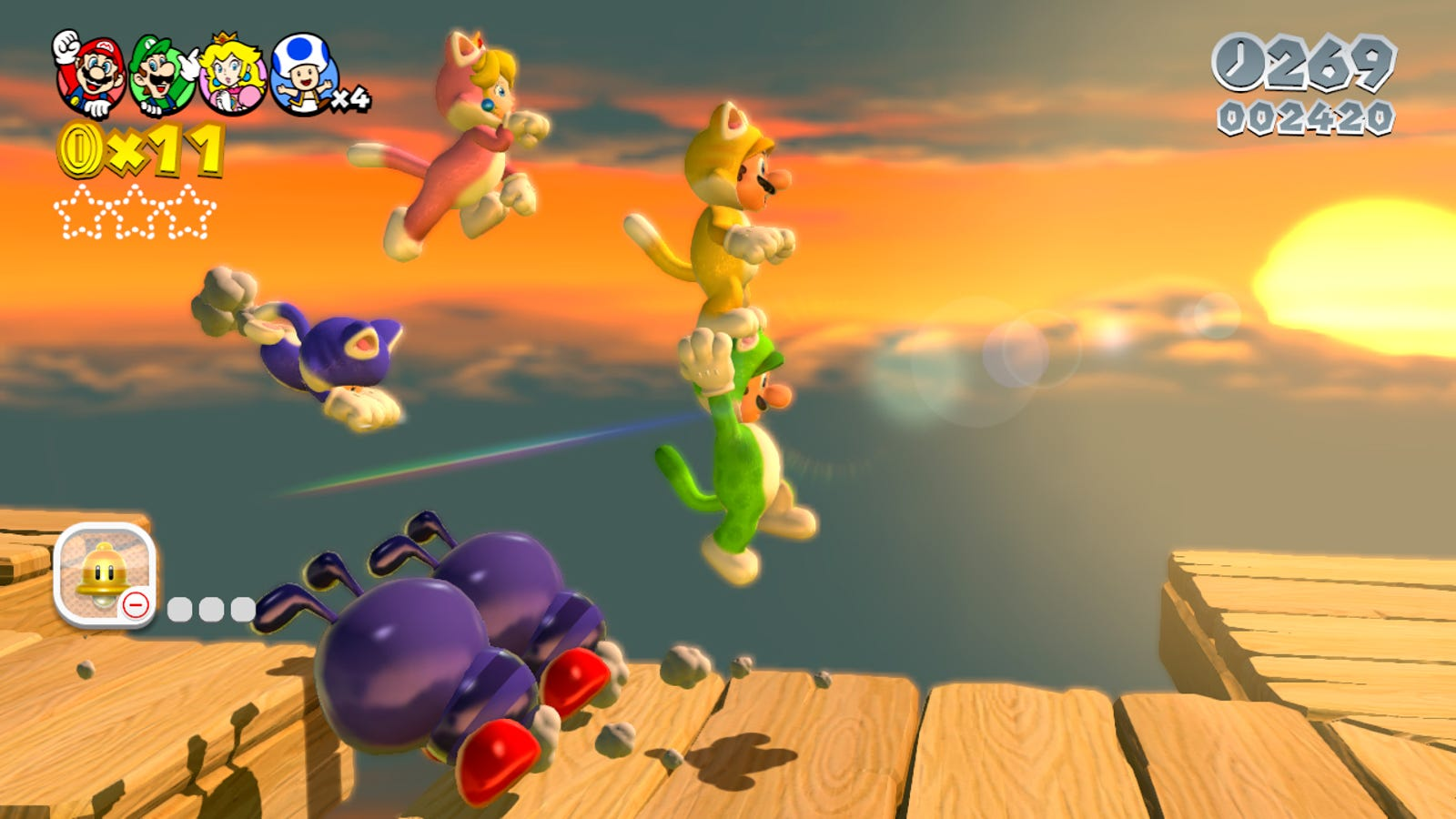 """New Super Mario Bros. U and Super Mario 3D World Nintendo likes to look back on Zelda games, but it tends to look forward with Mario. Bringing back one of these games would strike me as less of a """"the beloved classic returns"""" situation and more of a """"here's an old game"""" situation—especially after the transcendent Mario Odyssey. Still could happen, although both games have touchscreen controls that would need to be sliced out or redesigned."""