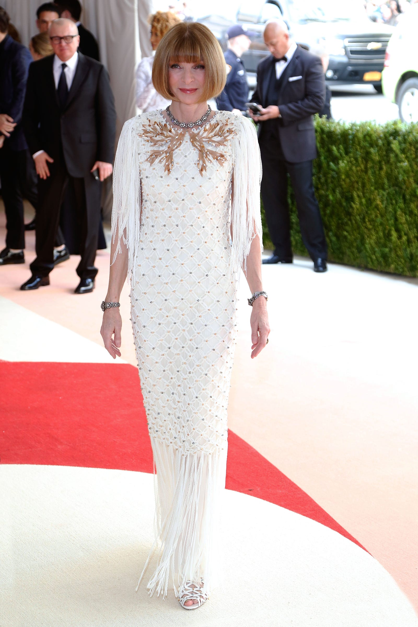 """Anna Wintour in Chanel at the Met Gala 2016, """"Manus x Machina: Fashion in an Age of Technology"""""""