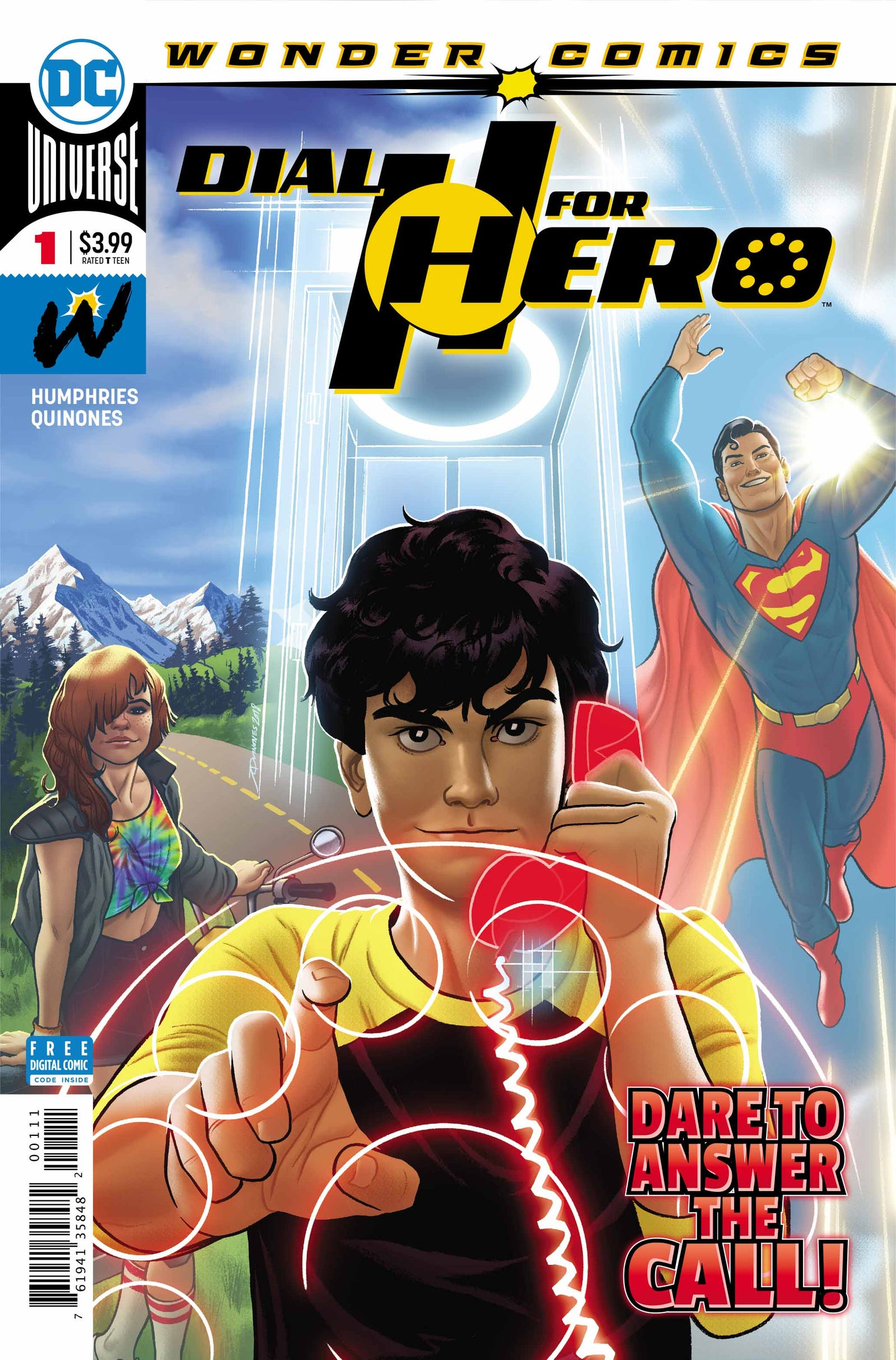 Get a look at the first six pages of Dial H for Hero #1 in this new preview.
