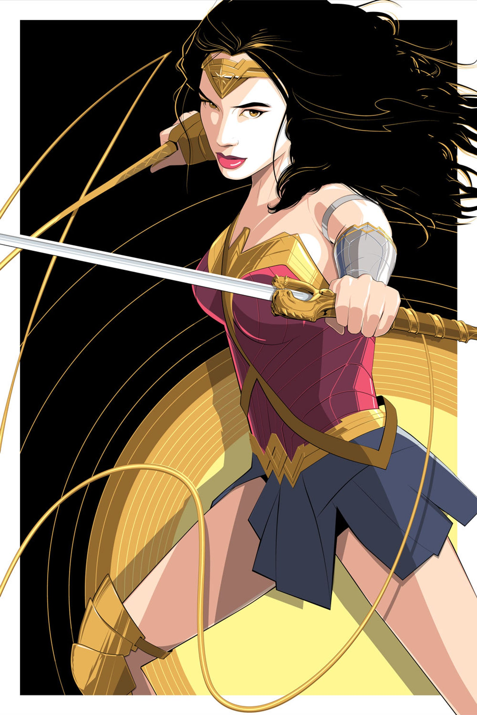 """Wonder Woman"" by Craig Drake"