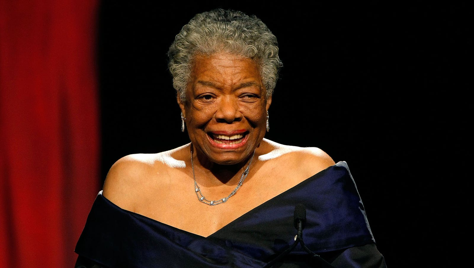 Maya Angelou  Following her death in May, the groundbreaking poet, singer, dancer, and humanitarian was eulogized the world over with incorrectly paraphrased quotations from her work on social media.