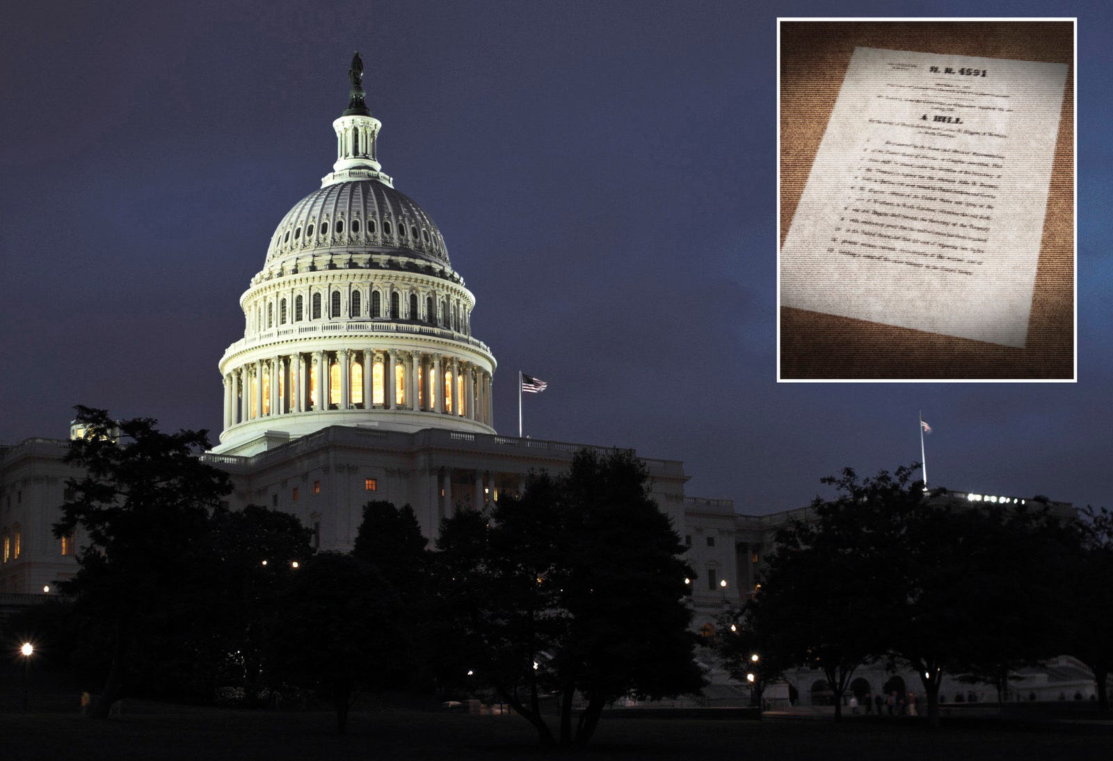 Capitol Building Haunted By Spirit Of Killed Piece Of Legislation