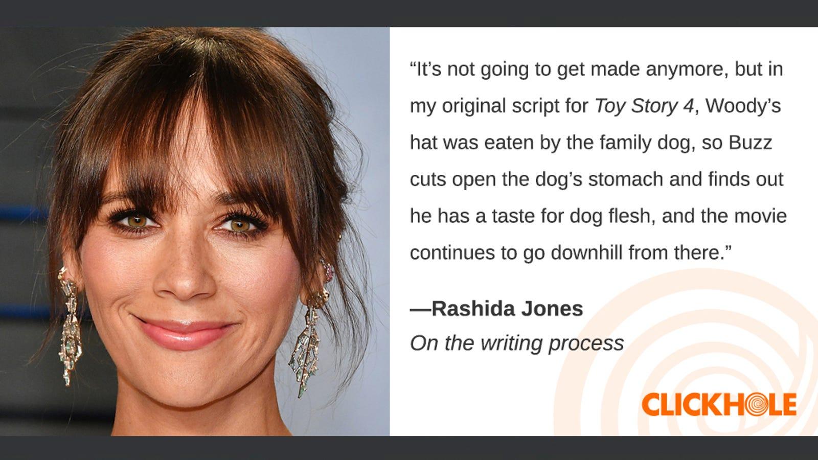 Illustration for article titled Find Out What Rashida Jones, em/emKathryn Bigelow, And em/emRowan Atkinson Have To Sayem/em