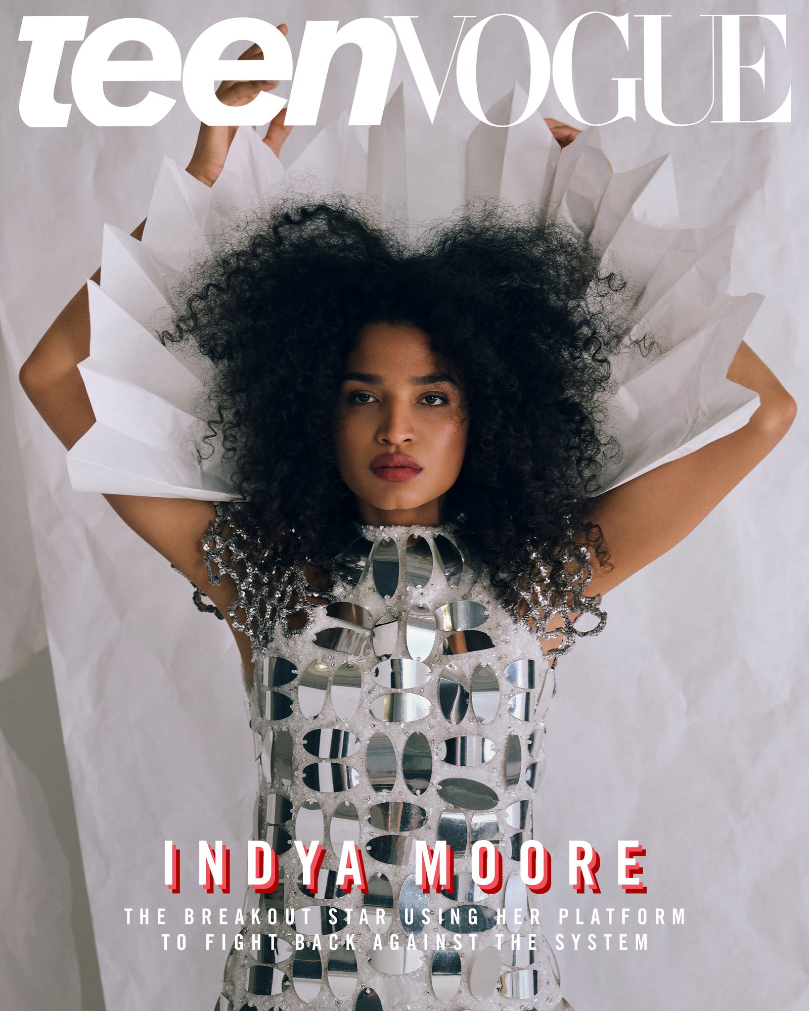 Indya Moore on Teen Vogue