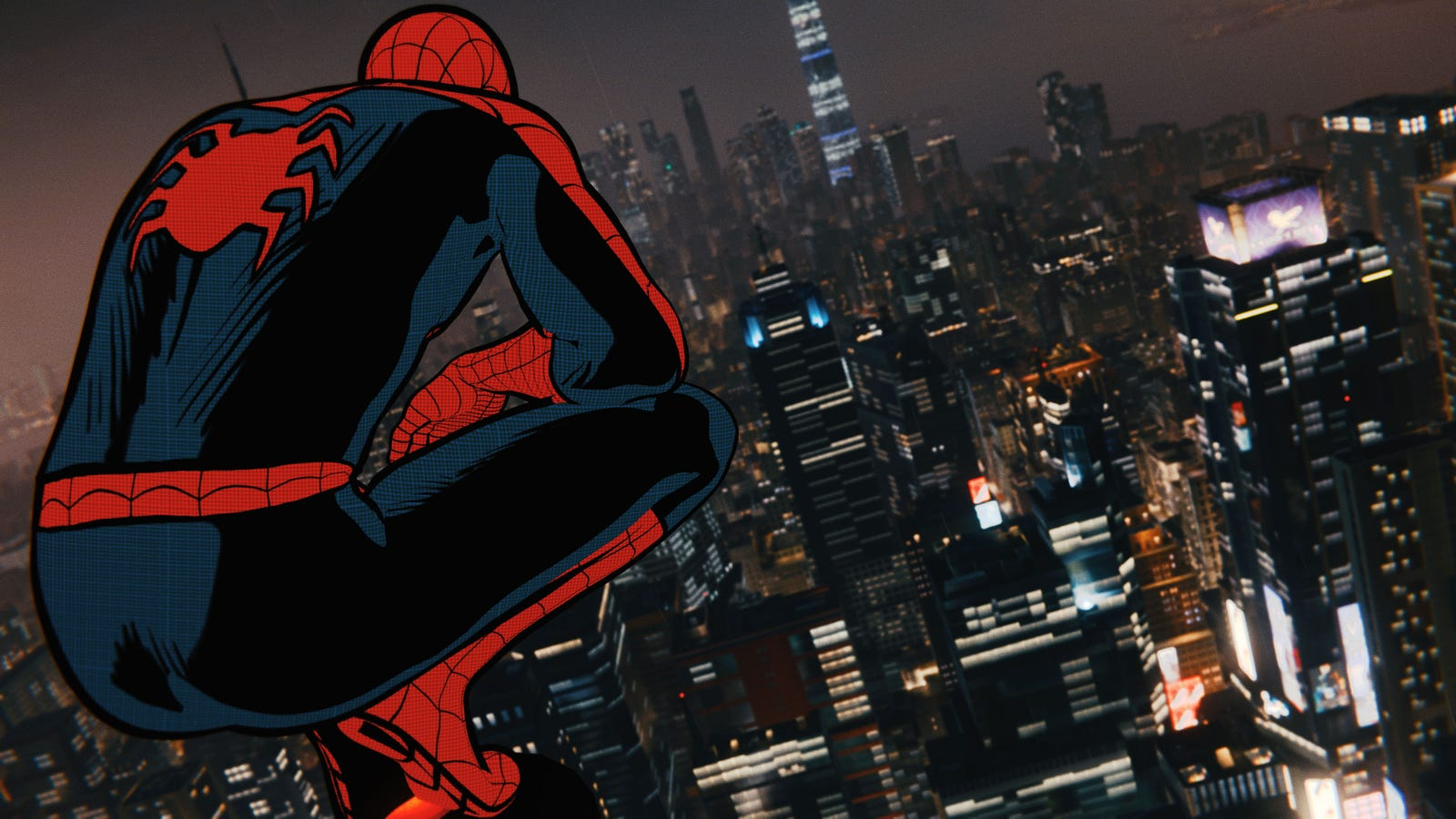 No explanations needed. Here are a bunch of beautiful pictures of the vintage comic suit in PS4's Spider-Man.