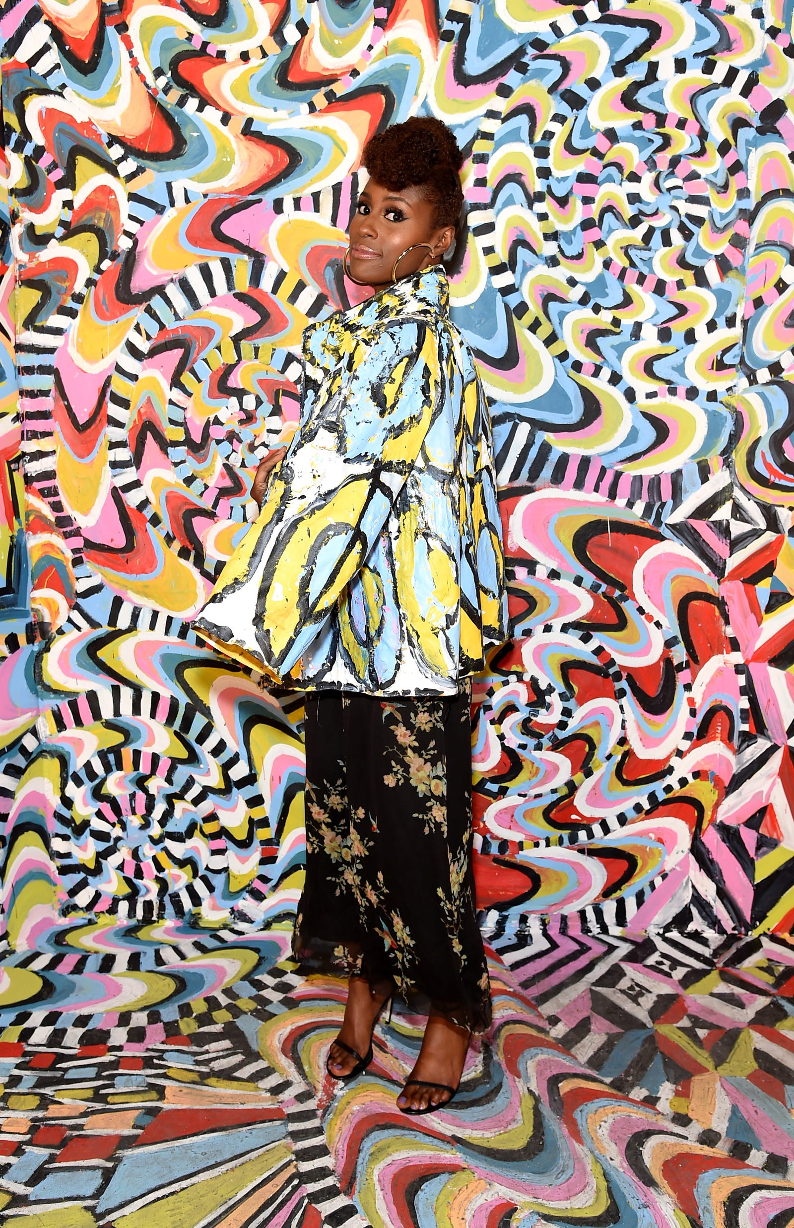 Issa Rae attends the Refinery29 Third Annual 29Rooms: Turn It Into Art event on Sept. 7, 2017, in the Brooklyn borough of New York City. (Jamie McCarthy/Getty Images for Refinery29)