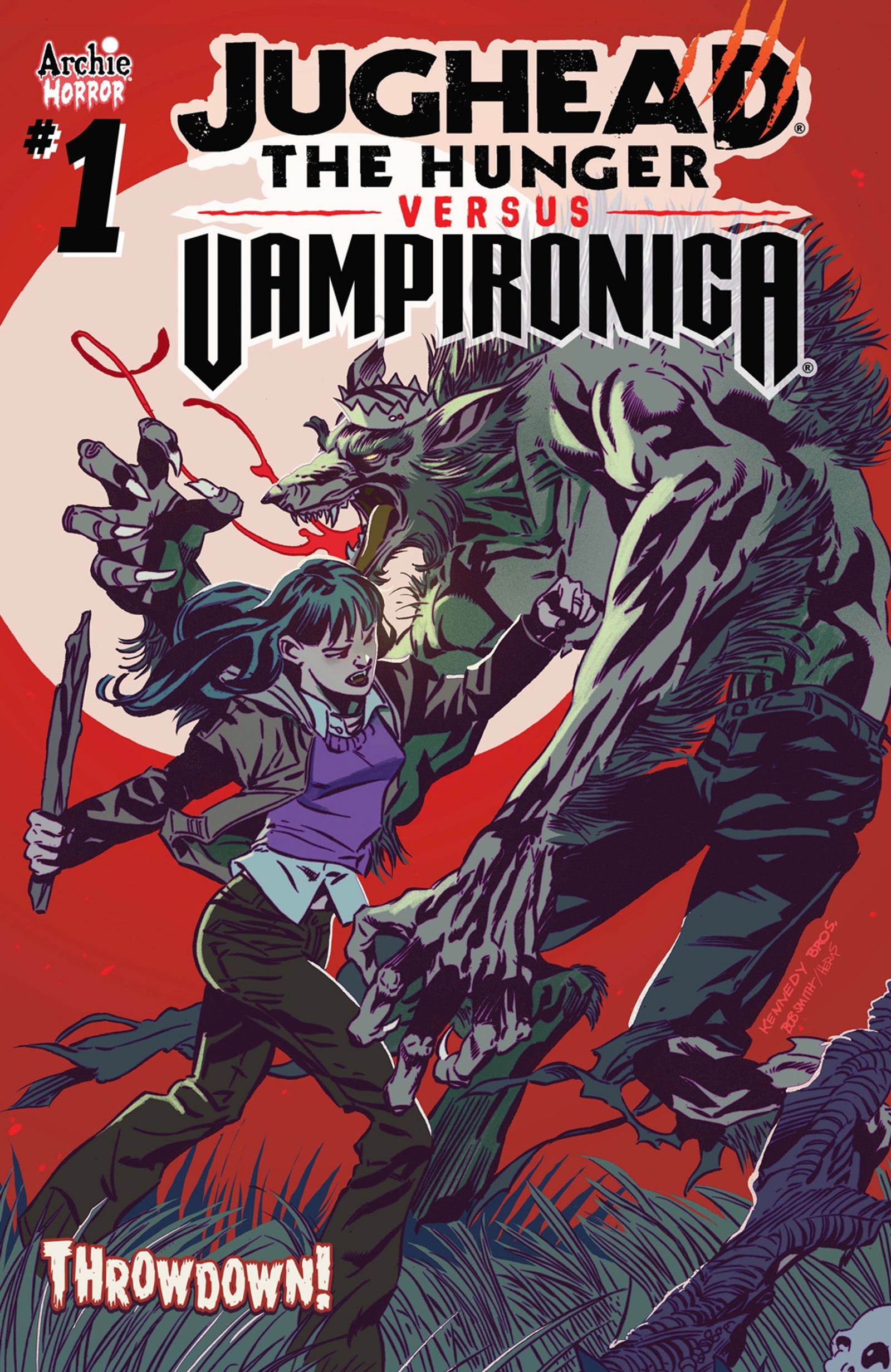 A Gallery of covers for Jughead: The Hunger vs. Vampironica #1.