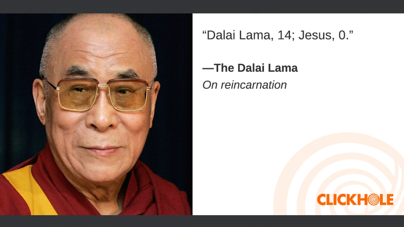 Illustration for article titled Find Out What The Dalai Lama, George H.W. Bush, Kathryn Bigelow, And More Have To Say