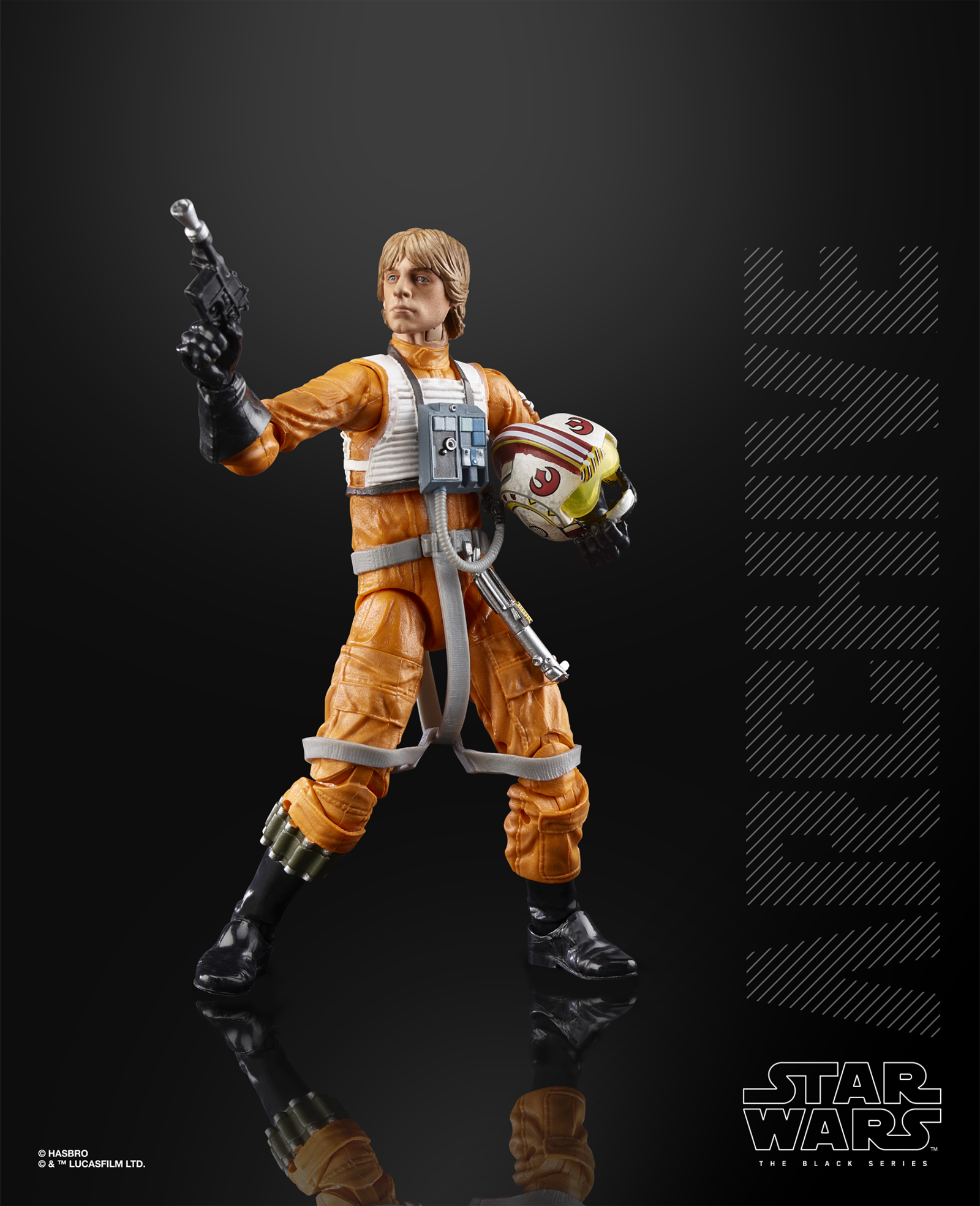 The Black Series Archive re-release of Luke Skywalker (X-Wing Pilot).